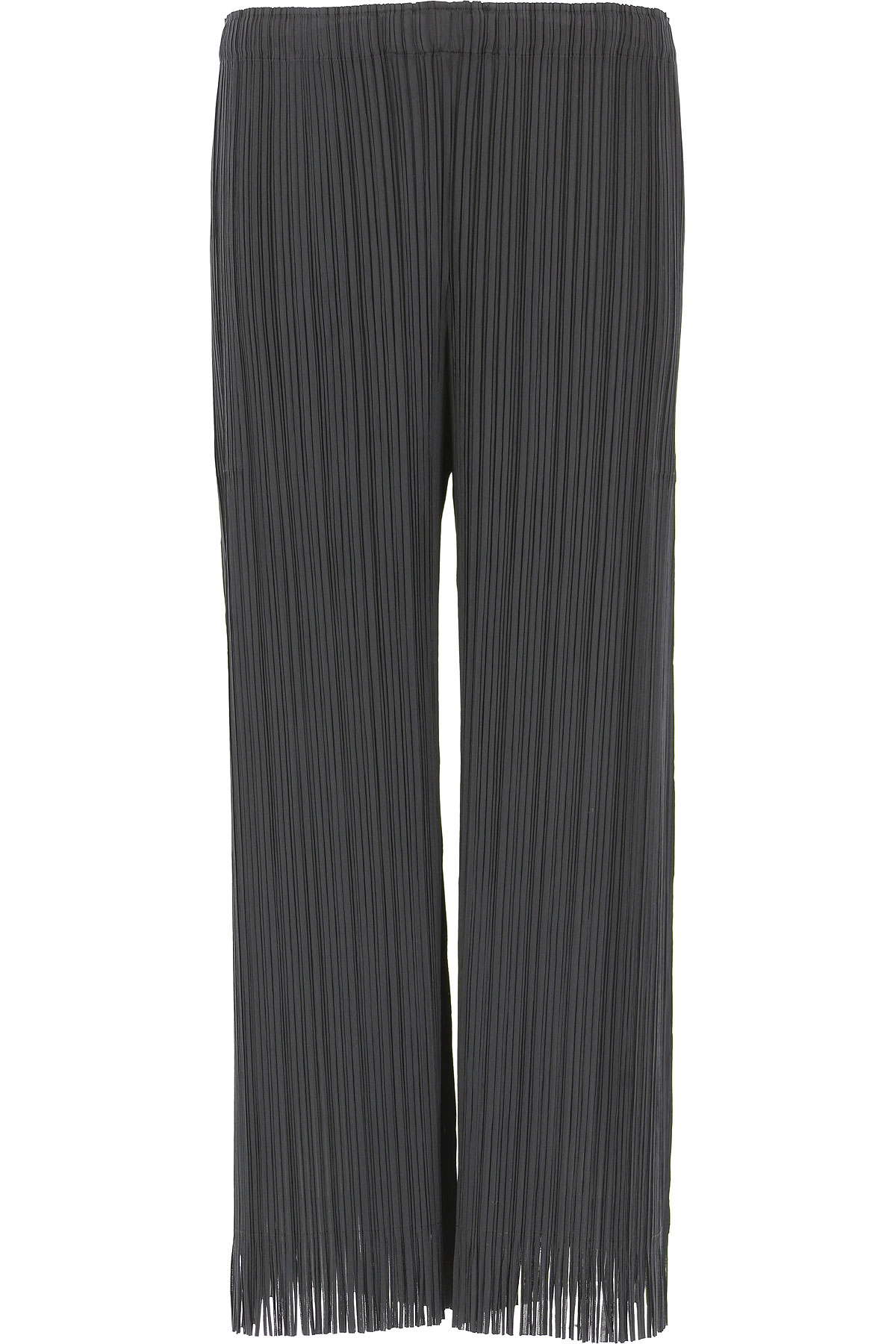 Image of Issey Miyake Pants for Women, Black, polyester, 2017