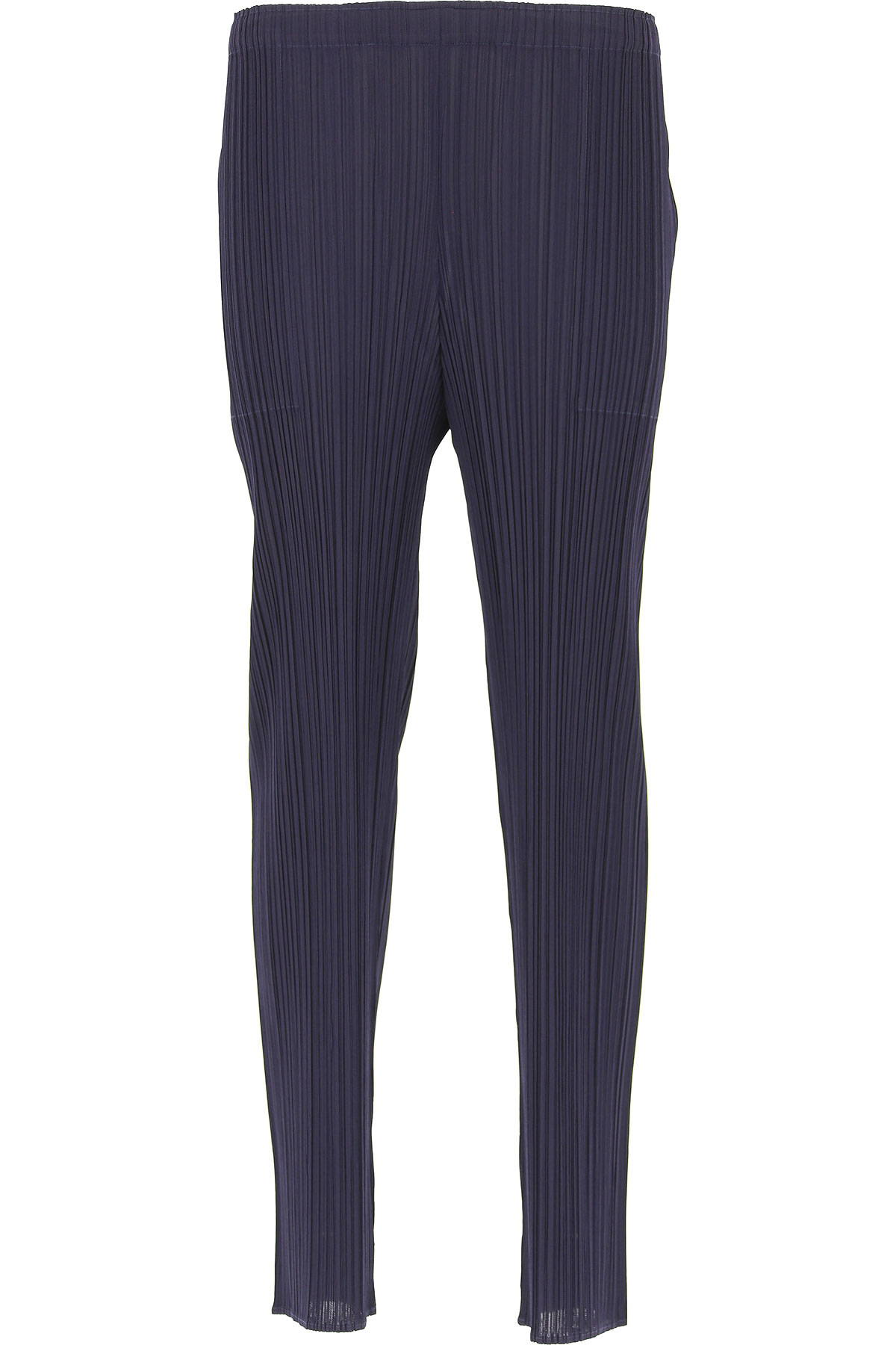 Image of Issey Miyake Pants for Women, navy, polyester, 2017