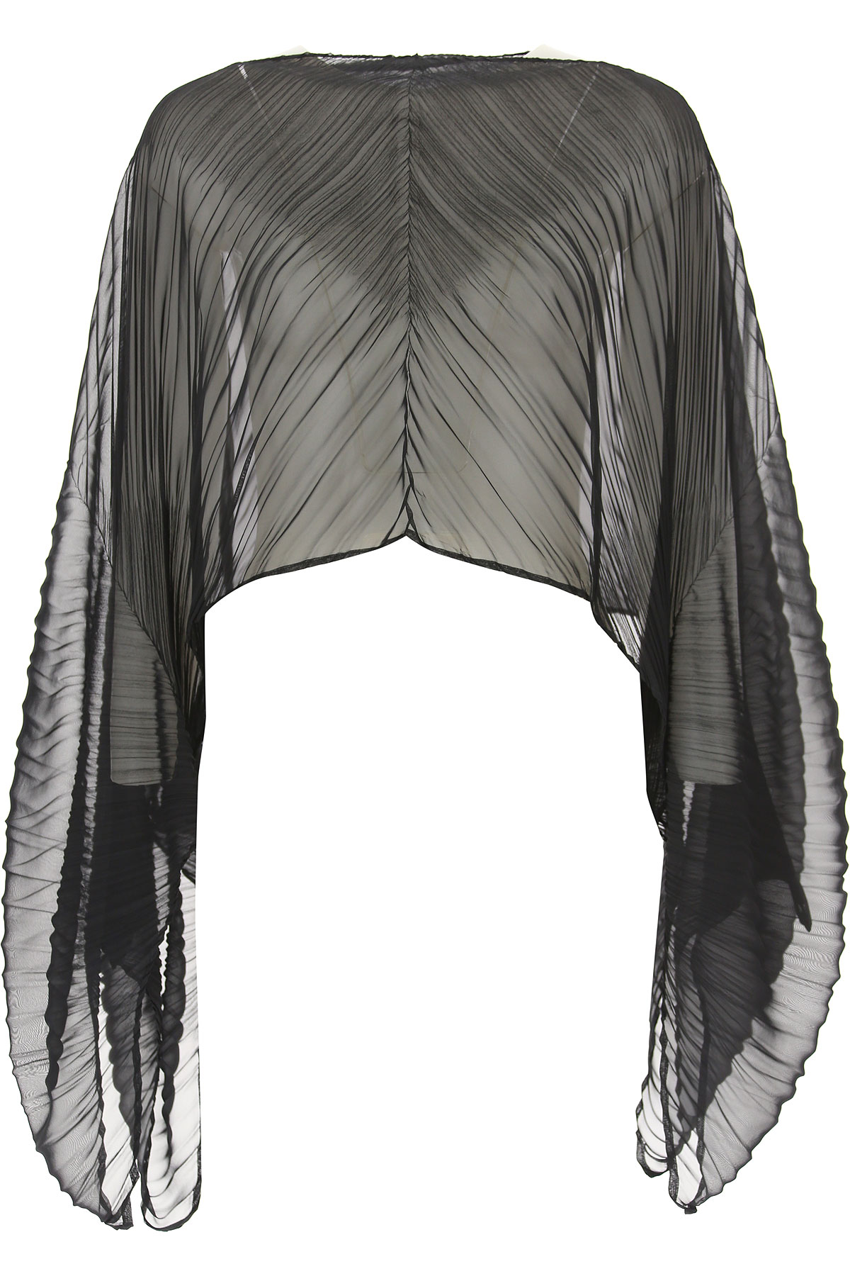 Image of Issey Miyake Scarf for Women, Black, polyester, 2017