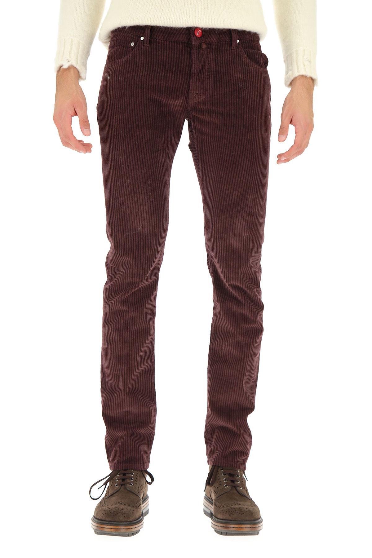 Jacob Cohen Jeans On Sale, dark Burgundy, Cotton, 2019, 30 31 32 33 34 36 38