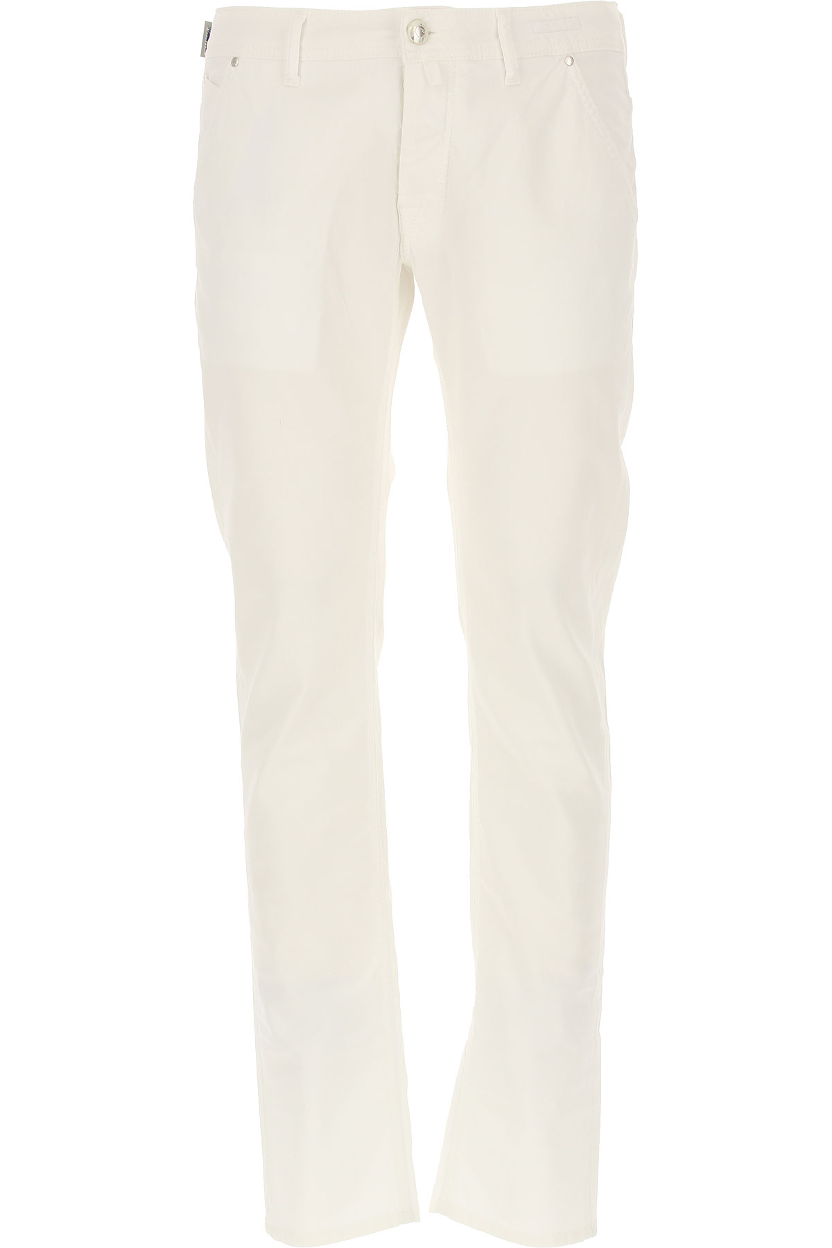 Jacob Cohen Jeans, White, Cotton, 2017, 32 34 36