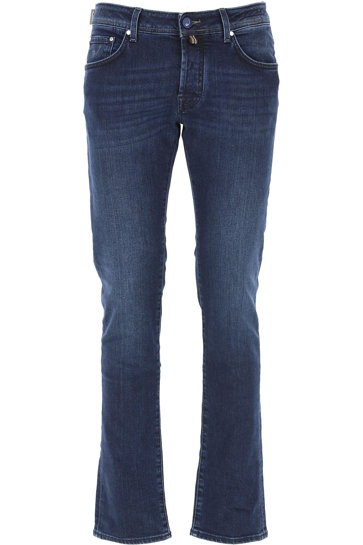 Jacob Cohen Jeans On Sale, Dark Blue, Cotton, 2019, 33 34 38