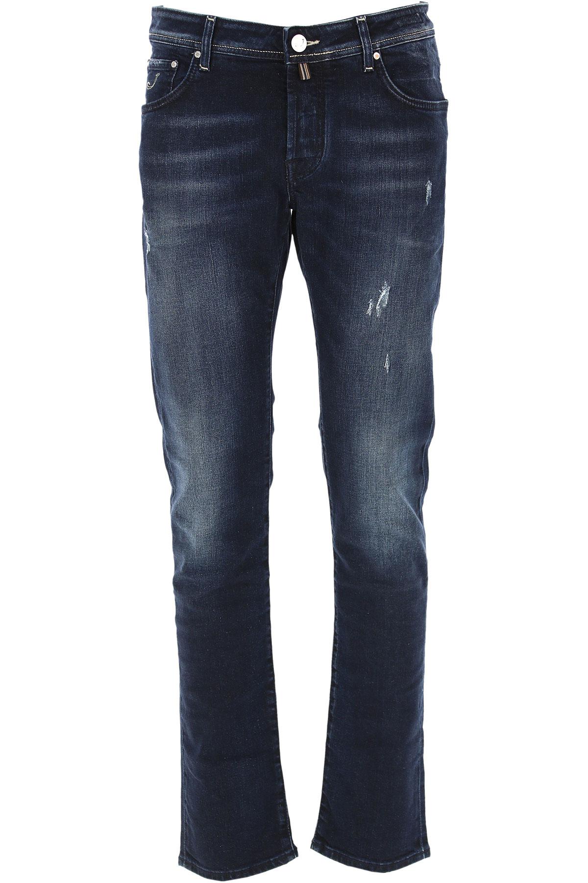 Jacob Cohen Jeans On Sale, Dark Blue, Cotton, 2019, 31 32 33 36