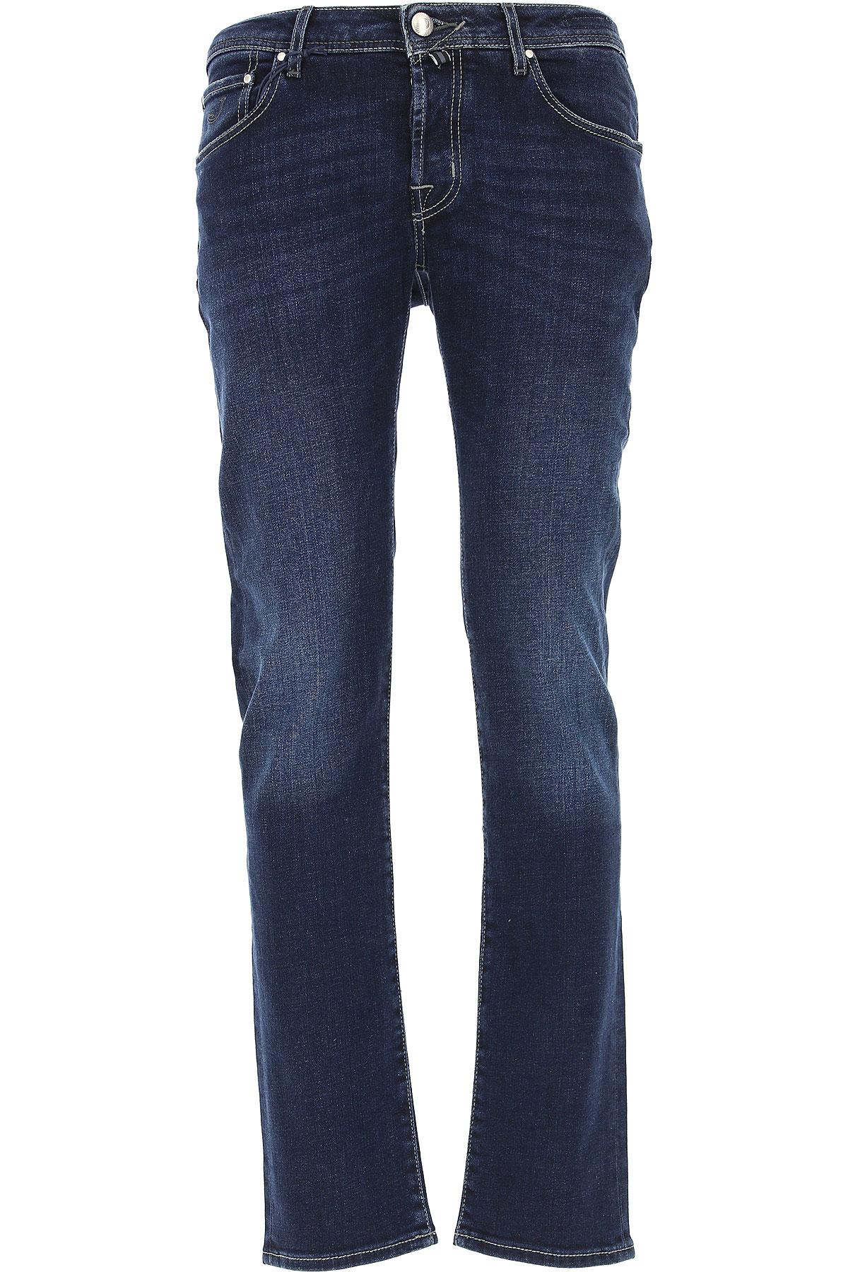 Jacob Cohen Jeans On Sale, Dark Blue, Cotton, 2019, 31 33 34