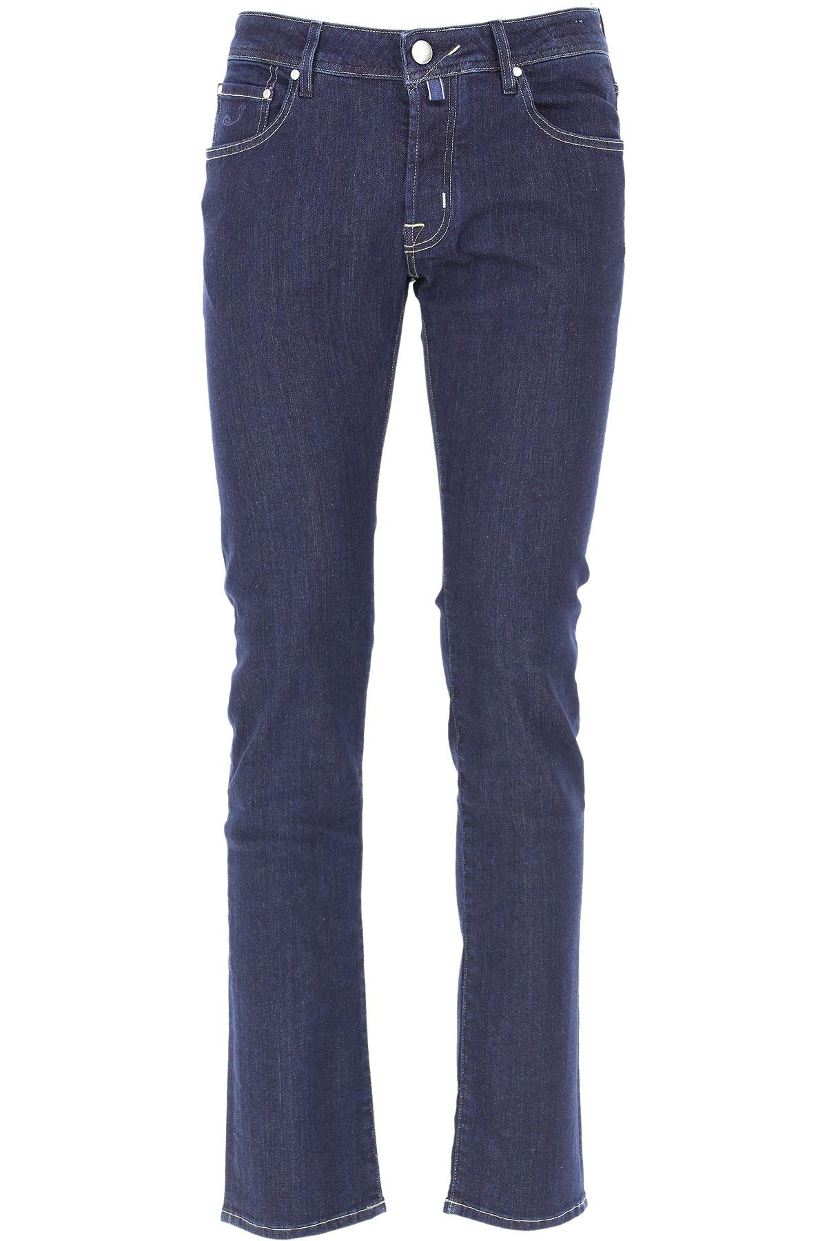 Jacob Cohen Jeans On Sale, Dark Blue, Cotton, 2019, 35 36