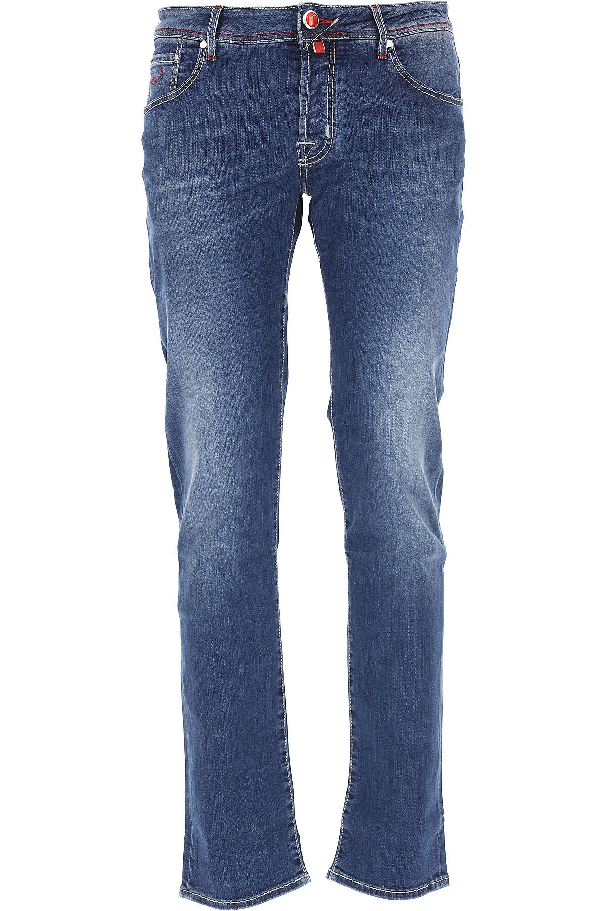 Jacob Cohen Jeans On Sale, Denim Blue, Cotton, 2017, 31 32 33 34 35 38