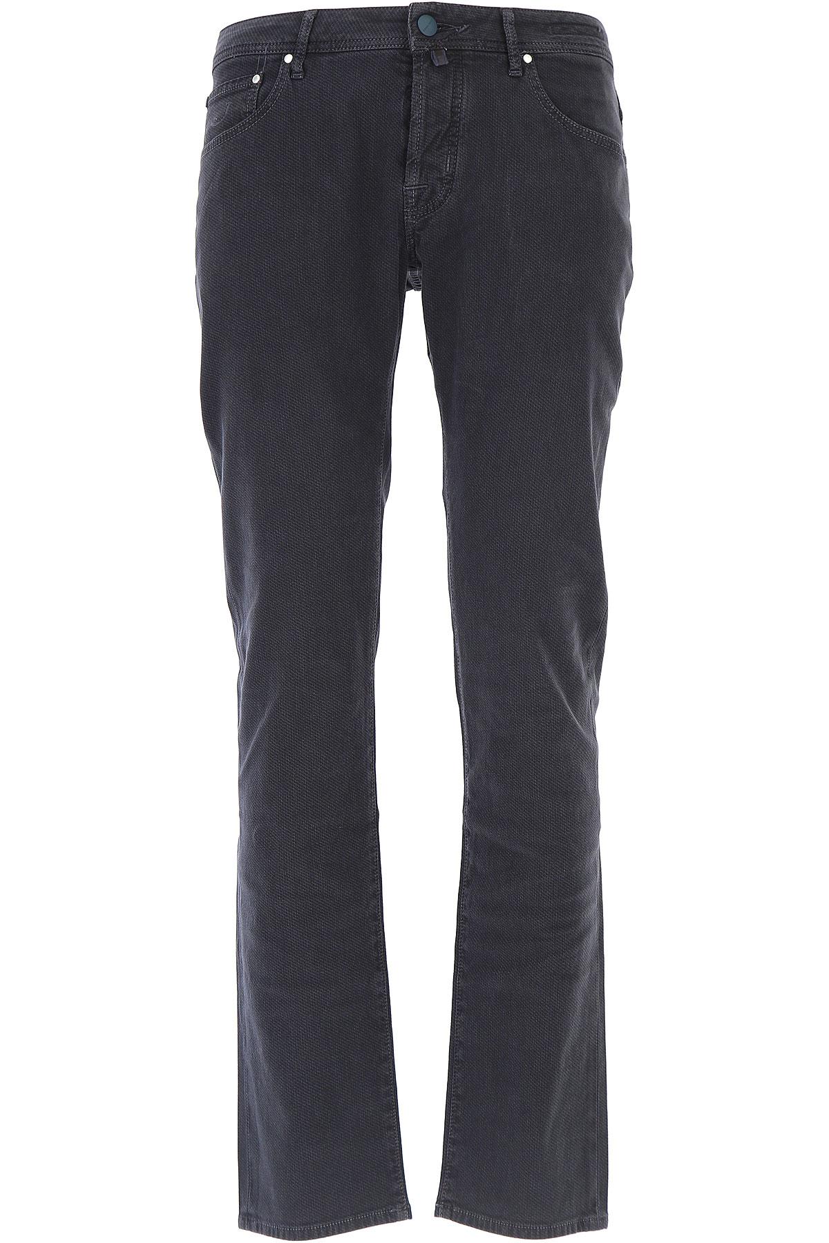 Image of Jacob Cohen Jeans, Blue, Cotton, 2017, US 30 - EU 46 US 31 - EU 47 US 32 - EU 48 US 33 - EU 49 US 34 - EU 50 US 36 - EU 52 US 38 - EU 54