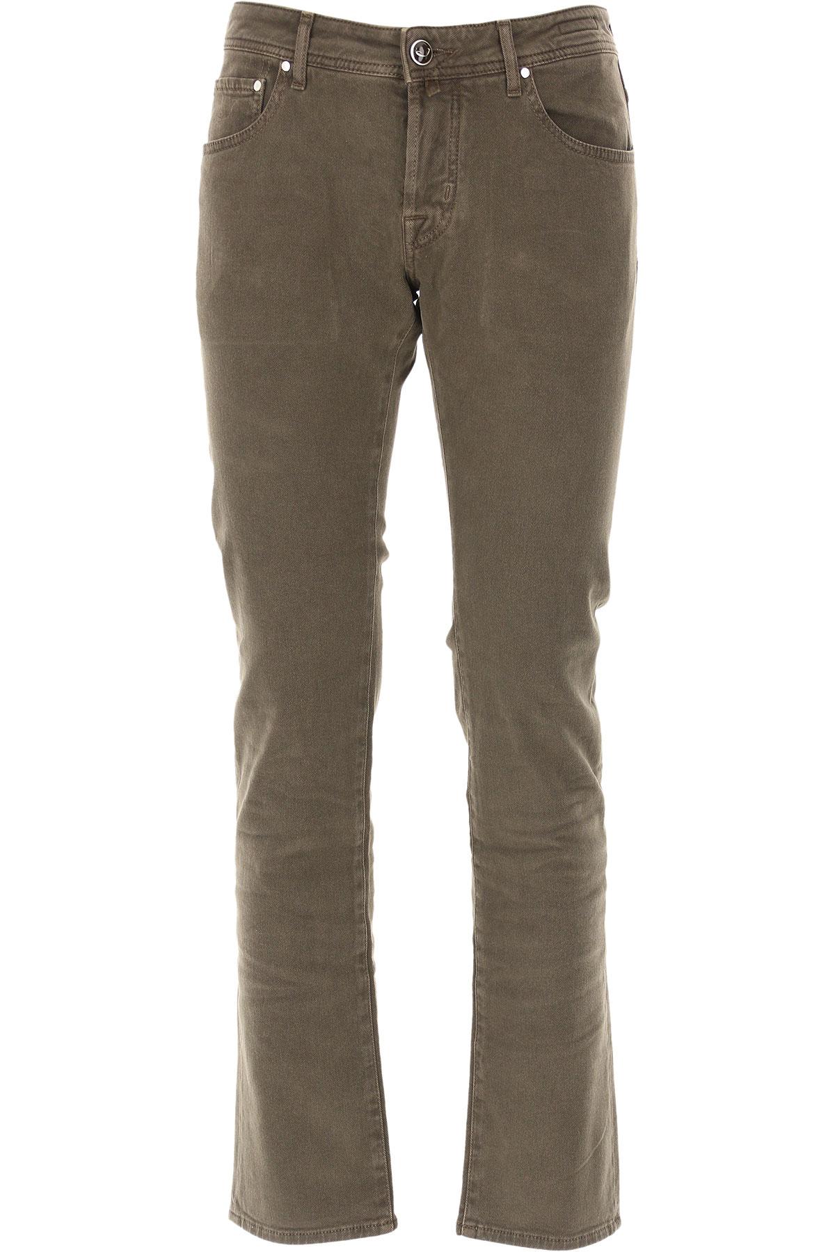 Jacob Cohen Jeans On Sale, Brown, Cotton, 2019, 32 34