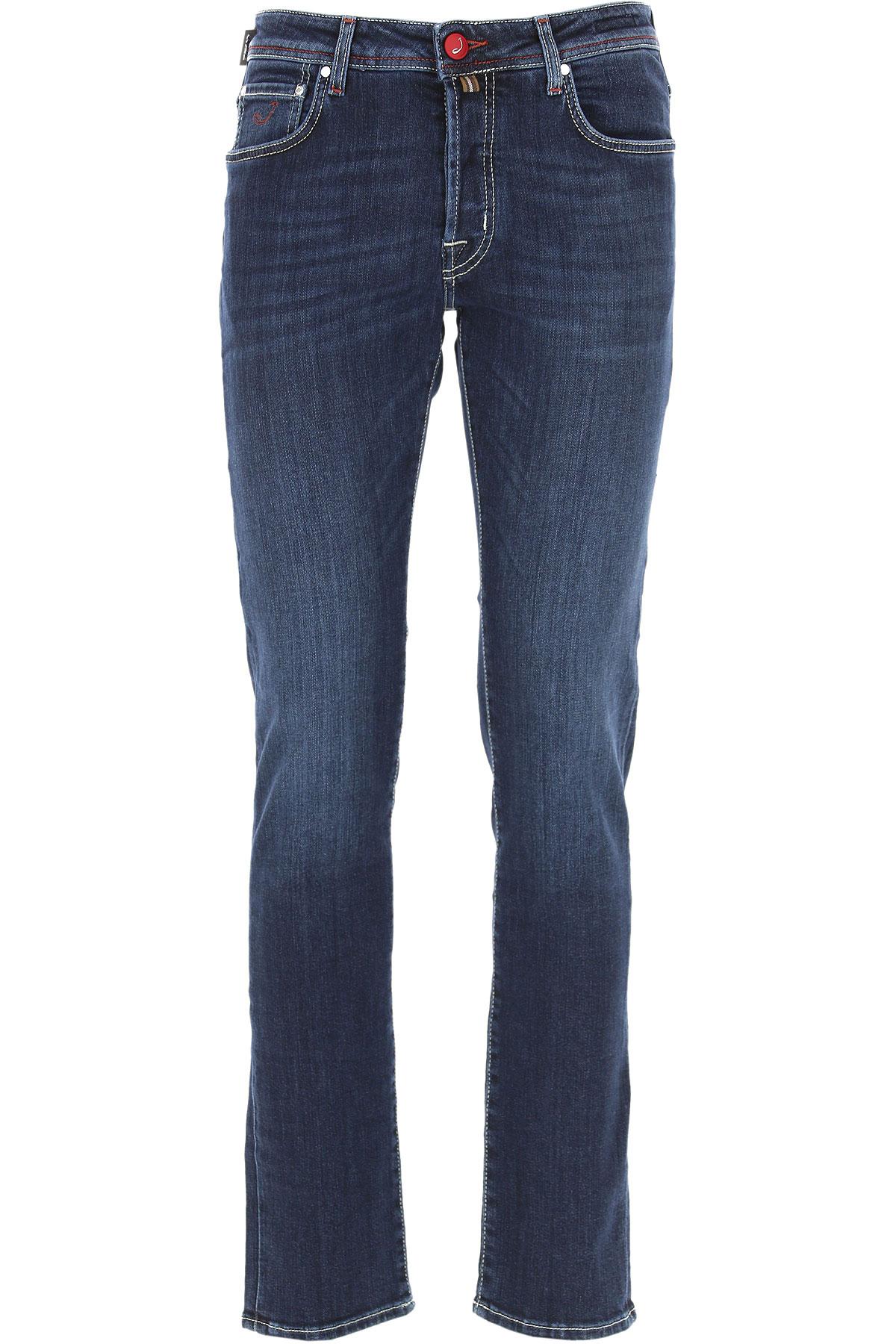 Jacob Cohen Jeans On Sale, Blue, Cotton, 2019, 33 35 36
