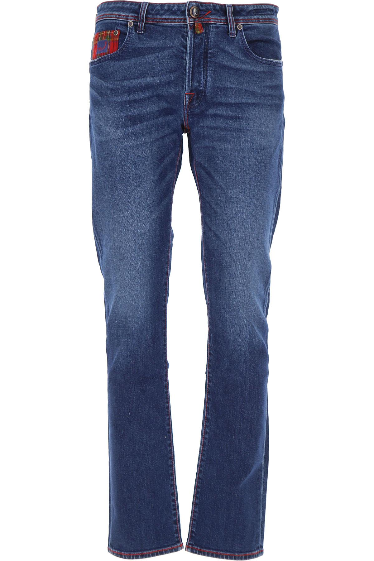 Jacob Cohen Jeans On Sale, Blue Denim, Cotton, 2019, 32 35