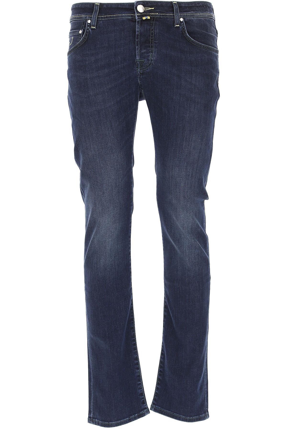 Jacob Cohen Jeans On Sale, Denim Blue, Cotton, 2017, US 28 - EU 44 US 37 - EU 53