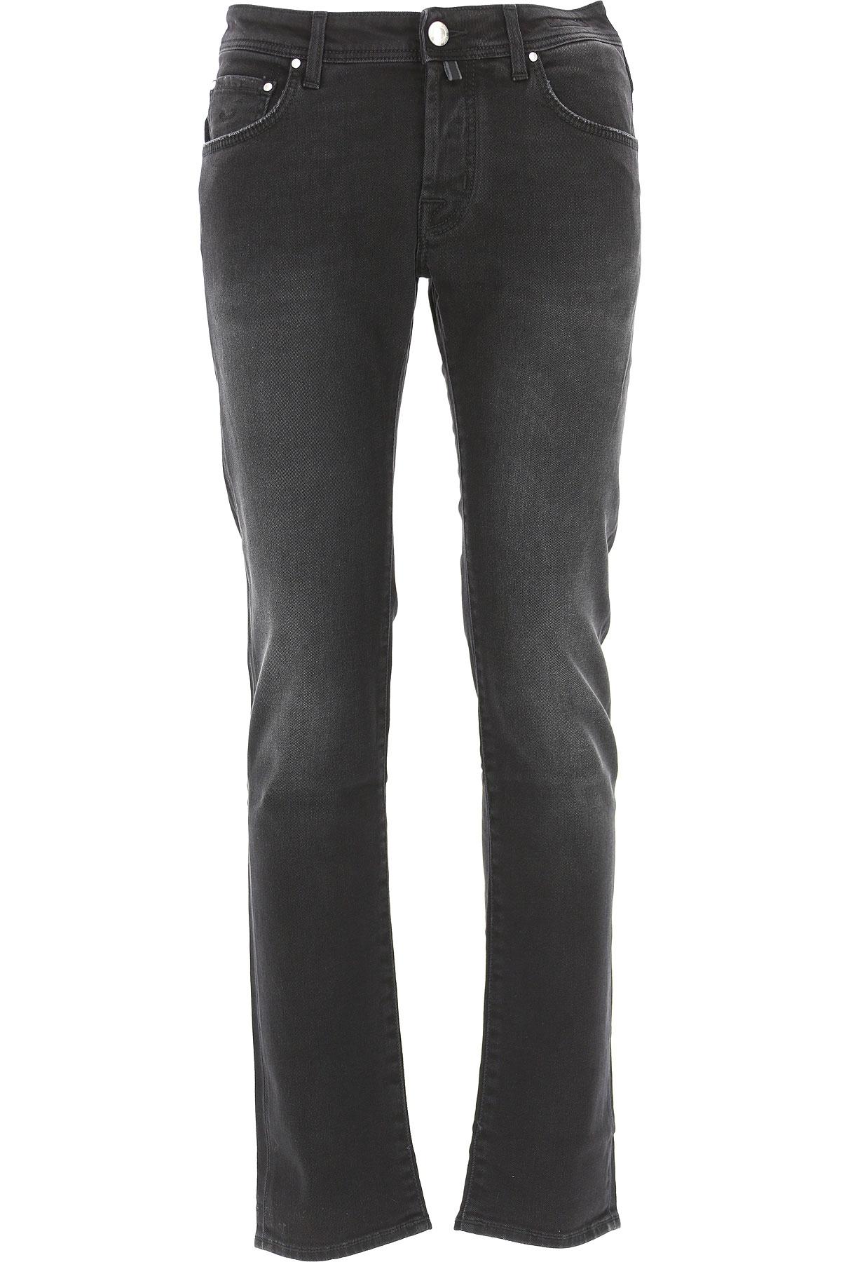Image of Jacob Cohen Jeans, Black, Cotton, 2017, US 30 - EU 46 US 31 - EU 47 US 32 - EU 48 US 33 - EU 49 US 34 - EU 50 US 36 - EU 52 US 38 - EU 54