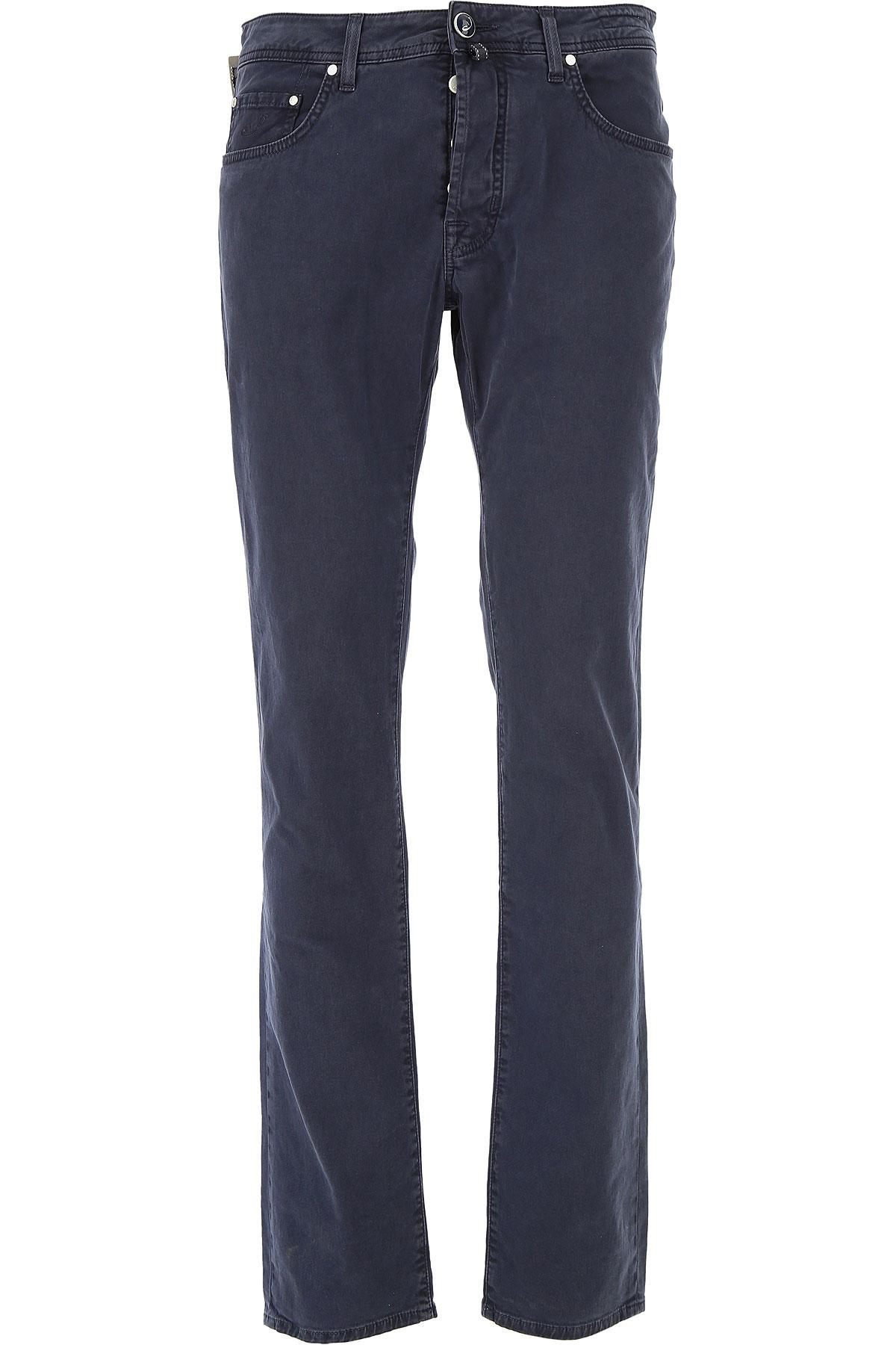 Image of Jacob Cohen Jeans, Blue, Cotton, 2017, US 30 - EU 46 US 31 - EU 47 US 32 - EU 48 US 33 - EU 49 US 34 - EU 50 US 35 - EU 51 US 36 - EU 52 US 38 - EU 54