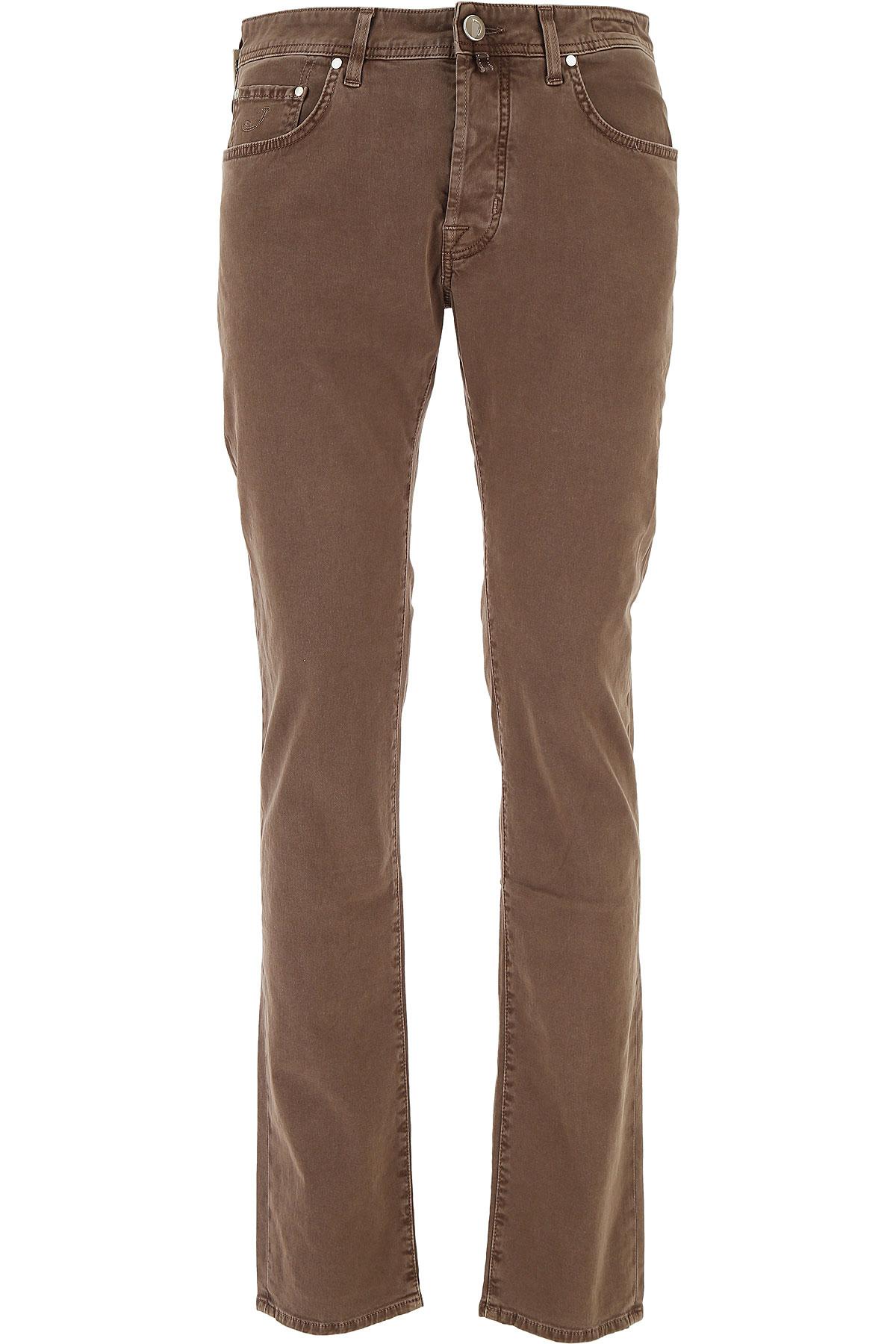 Jacob Cohen Jeans On Sale in Outlet, Chocolate Mousse, Cotton, 2017, US 32 - EU 48 US 33 - EU 49 USA-411876