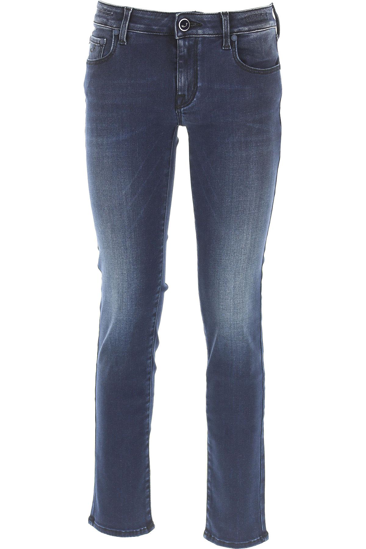 Jacob Cohen Jeans On Sale, Blue Denim, Cotton, 2017, 25 26 28 29 30 32