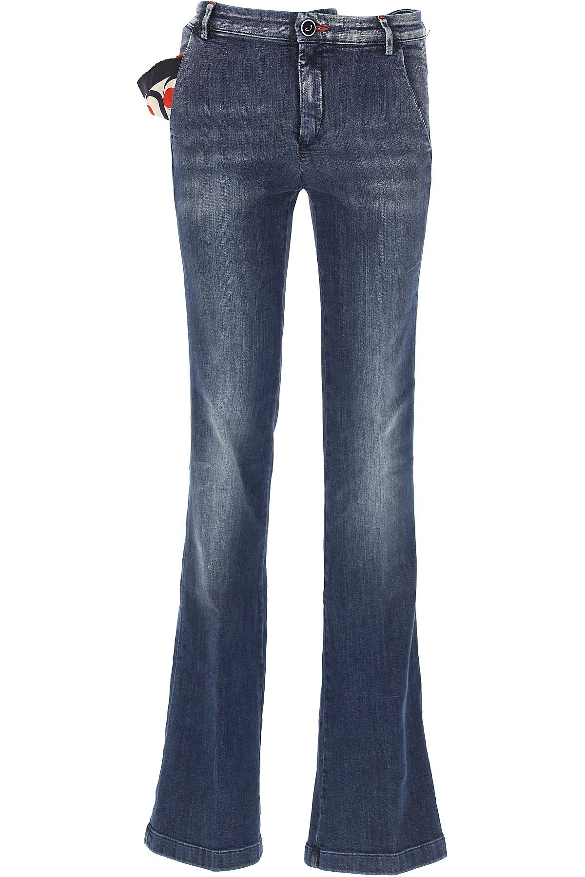 Image of Jacob Cohen Jeans, Blue Denim, Cotton, 2017, 28 29 30 31 32
