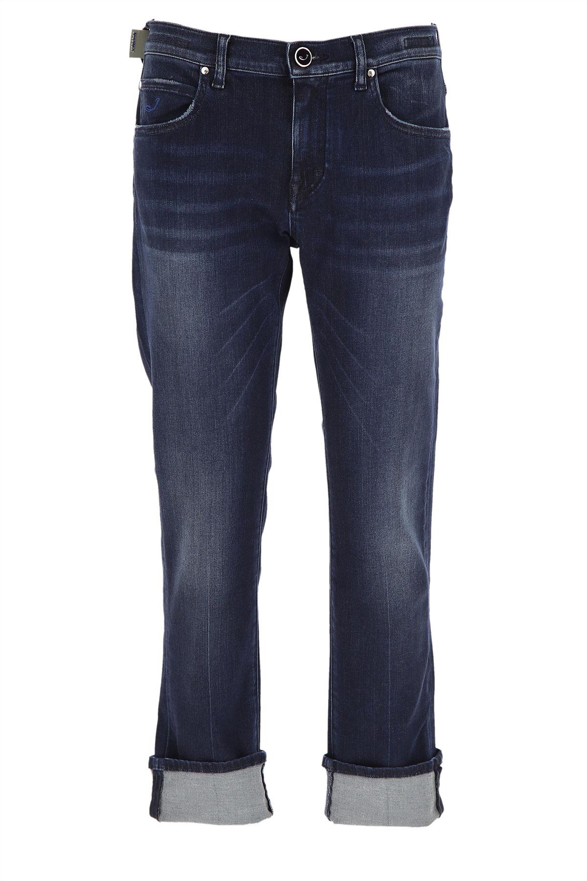 Jacob Cohen Jeans On Sale, Dark Blue Denim, Viscose, 2019, 25 26 27 28 29 30 31 32