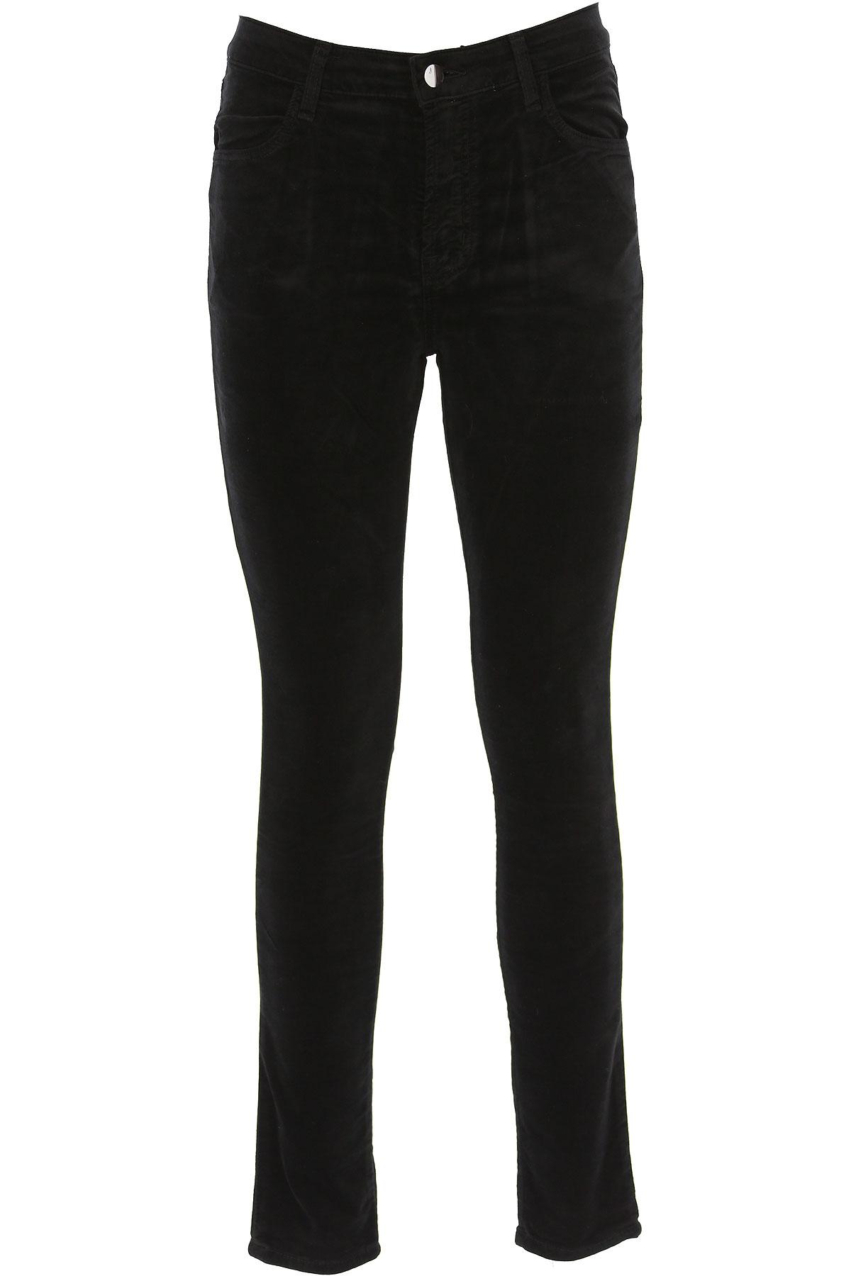 J Brand Pants for Women On Sale, Black, Cotton, 2019, 25 27 29 30