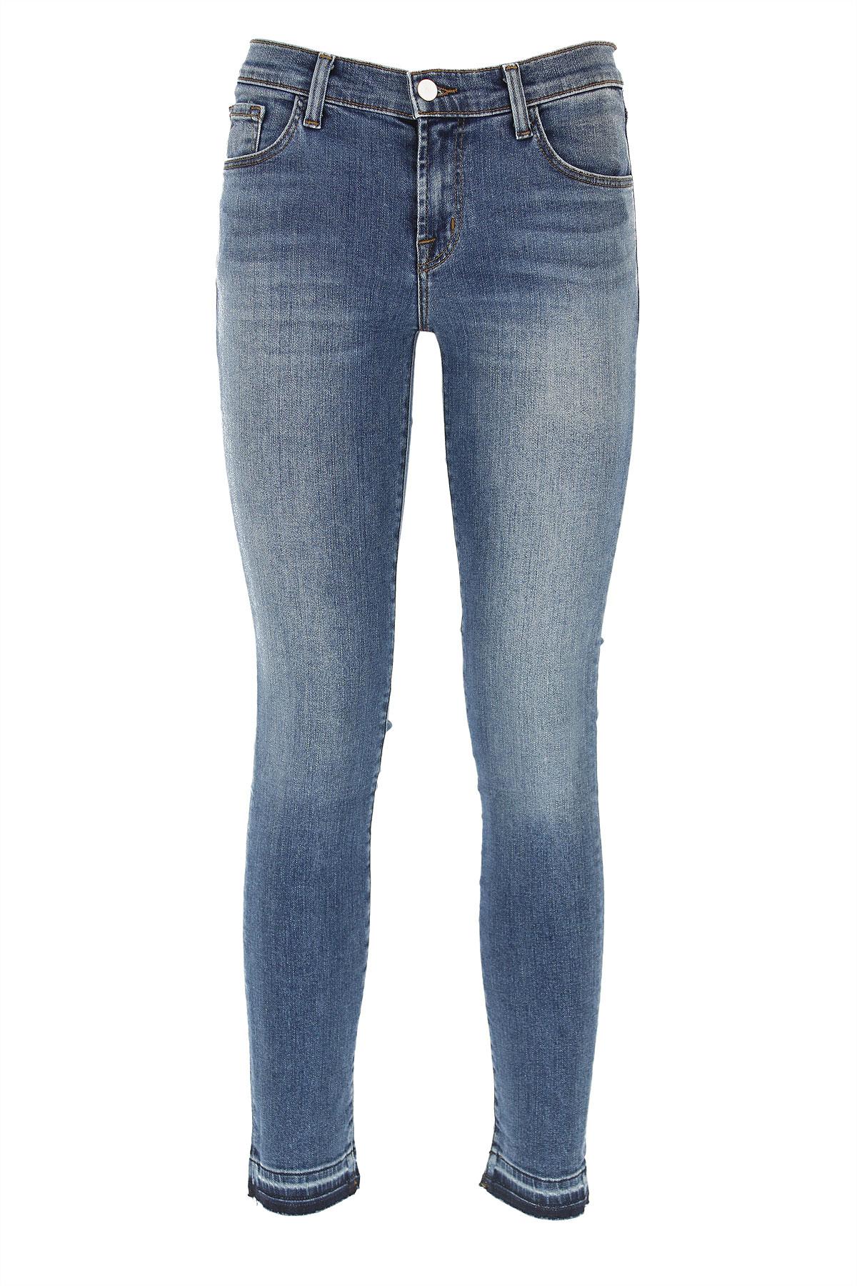 J Brand Jeans On Sale, Denim Blue, Cotton, 2017, 24 25 27 28
