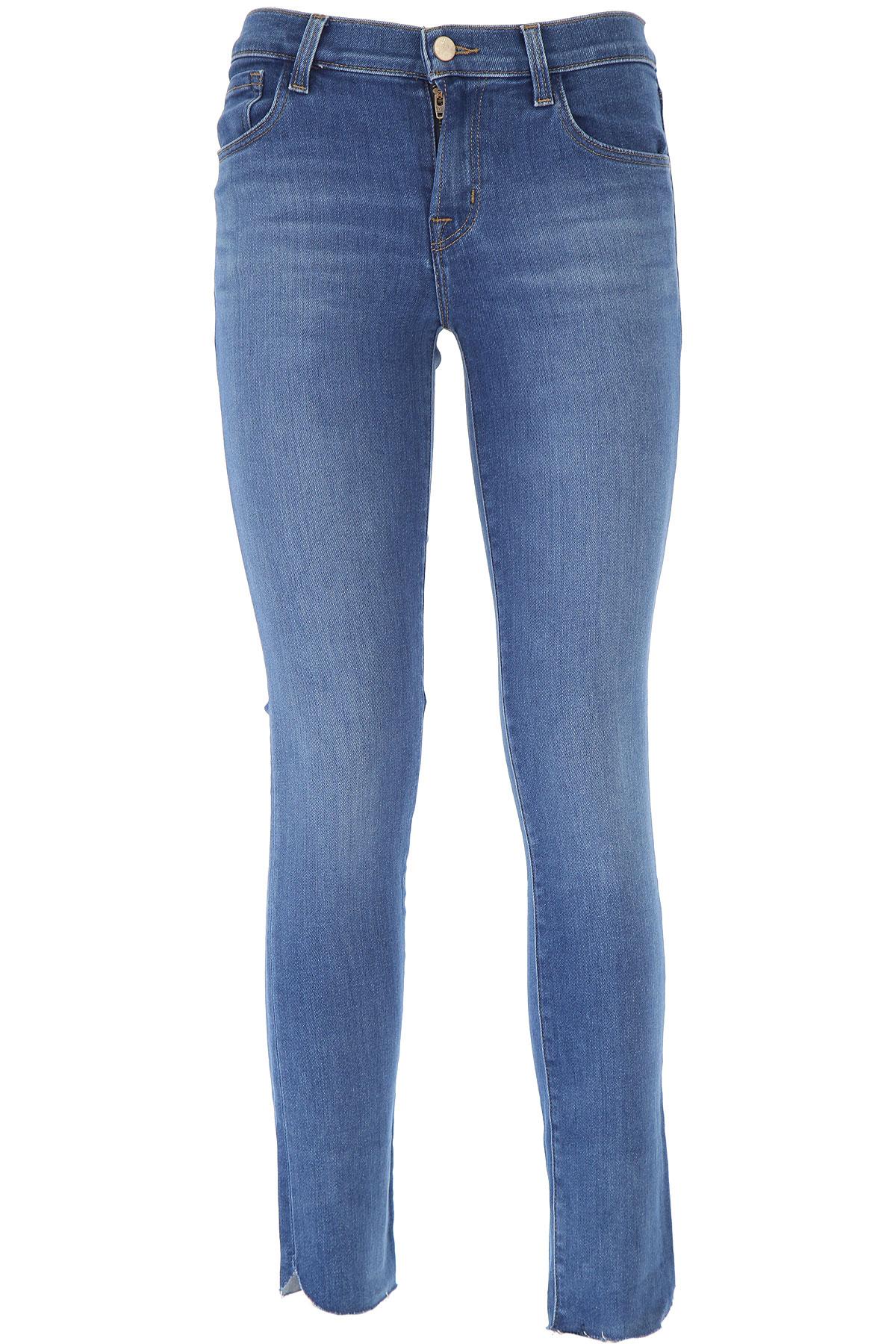 J Brand Jeans On Sale, Blue Denim, Cotton, 2019, 25 27 29
