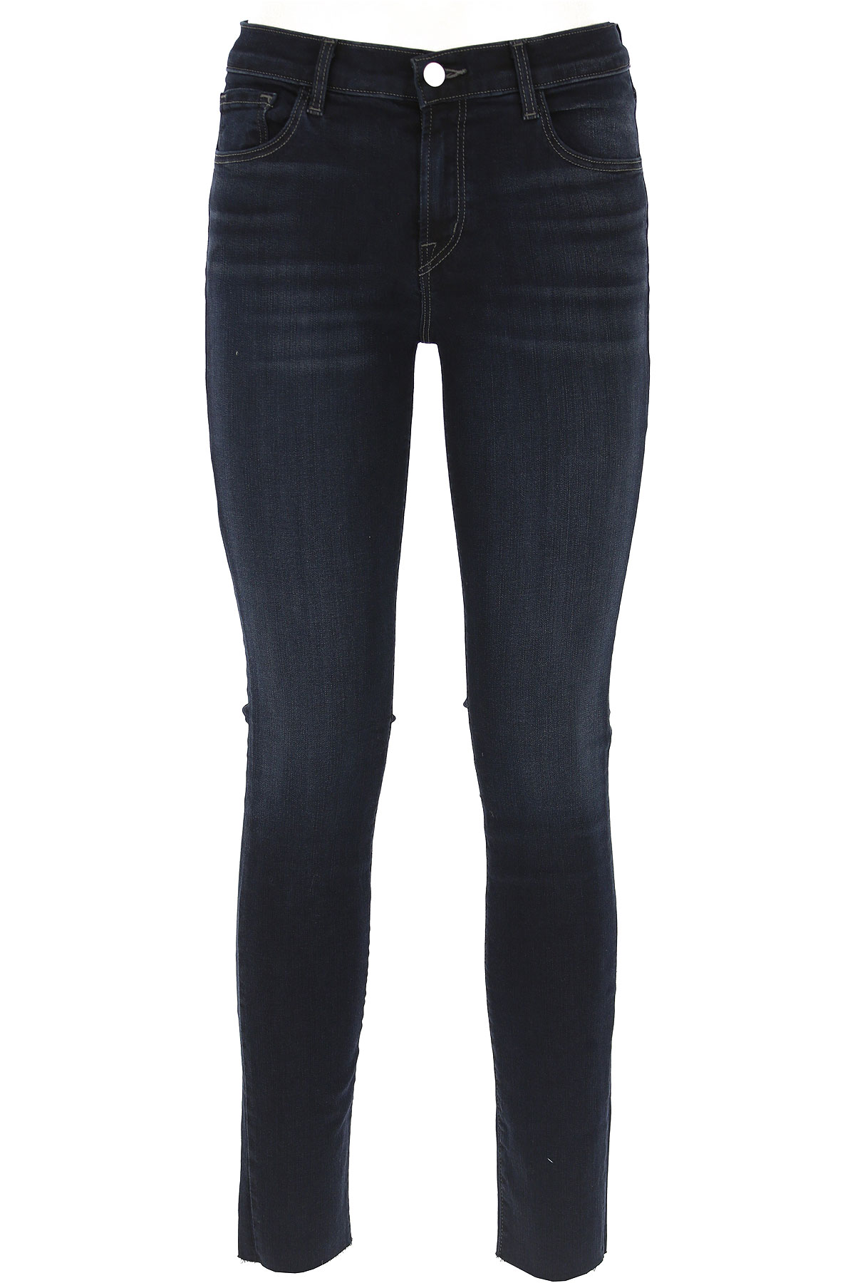 Image of J Brand Jeans, Dark Blue, Cotton, 2017, 24 25 26 27 28 29 30