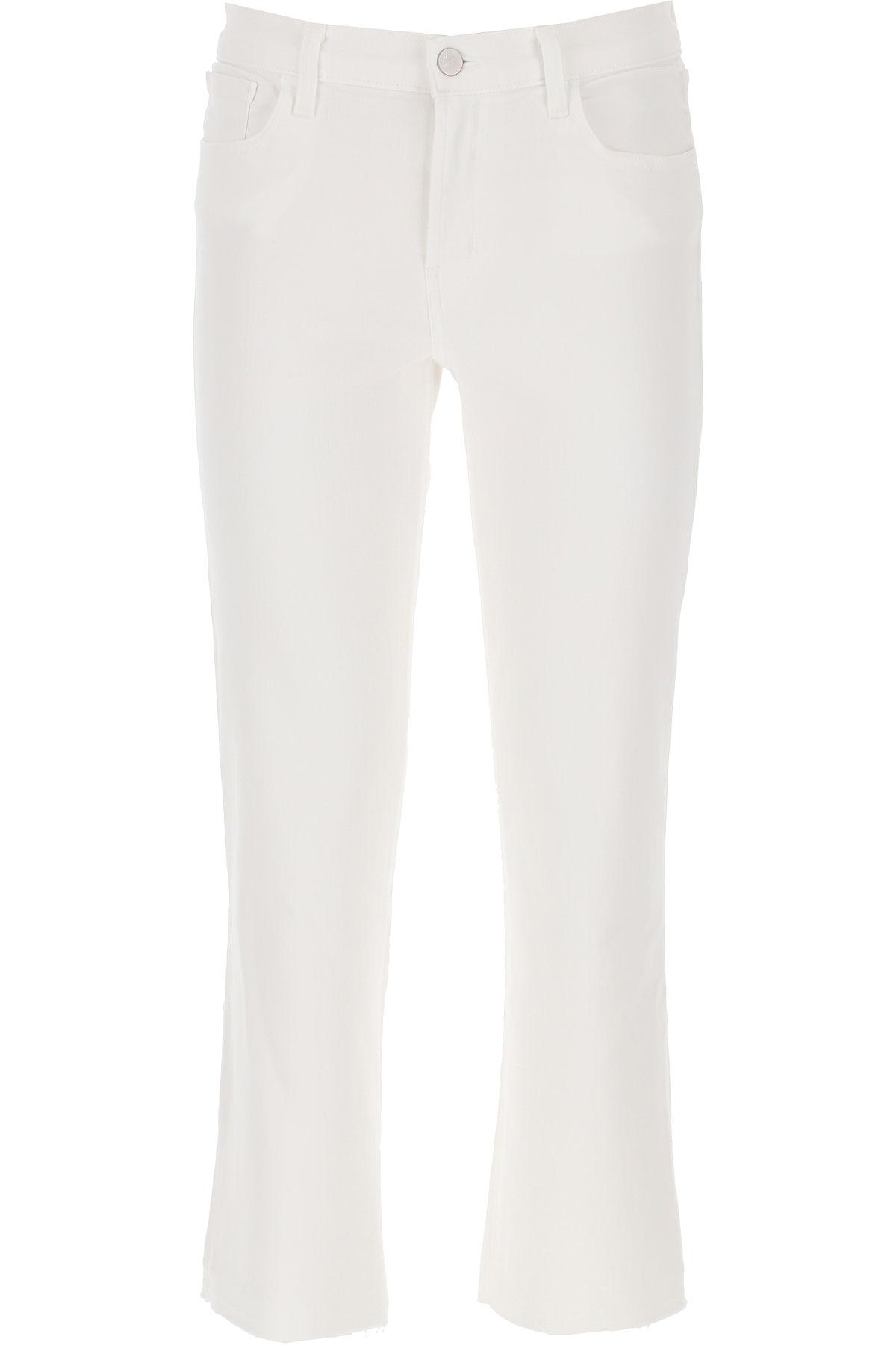 J Brand Jeans On Sale, White, Cotton, 2019, 24 25 26 27 28 29 30
