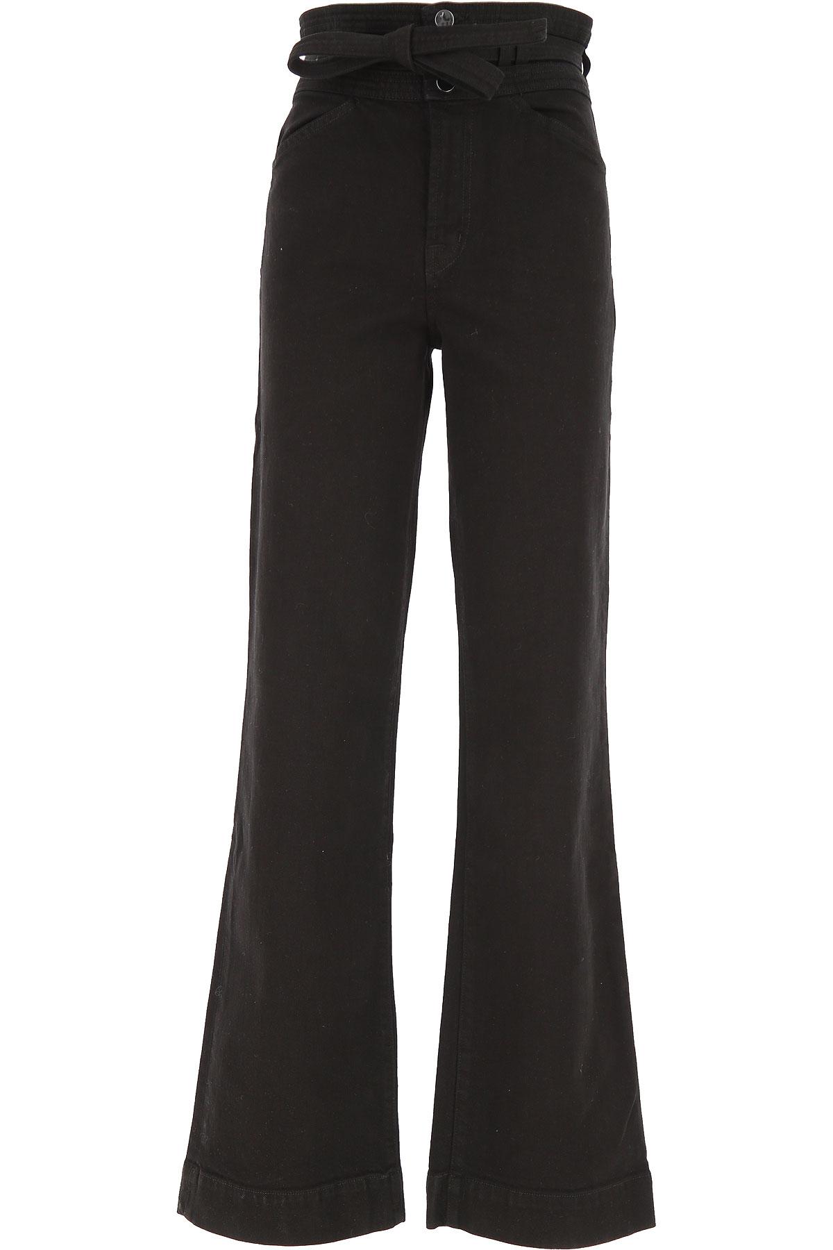 J Brand Pants for Women On Sale, Black, Cotton, 2019, 24 29