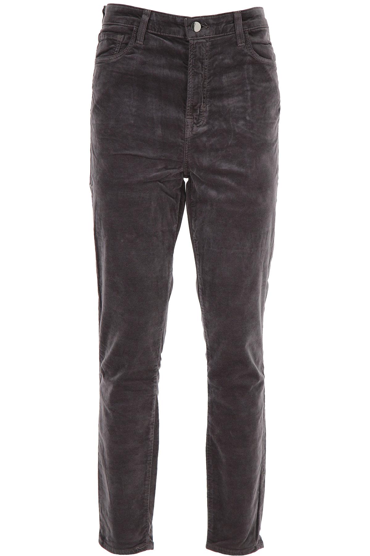 J Brand Pants for Women On Sale, Dark Anthracite Grey, Cotton, 2019, 25 27 30 32
