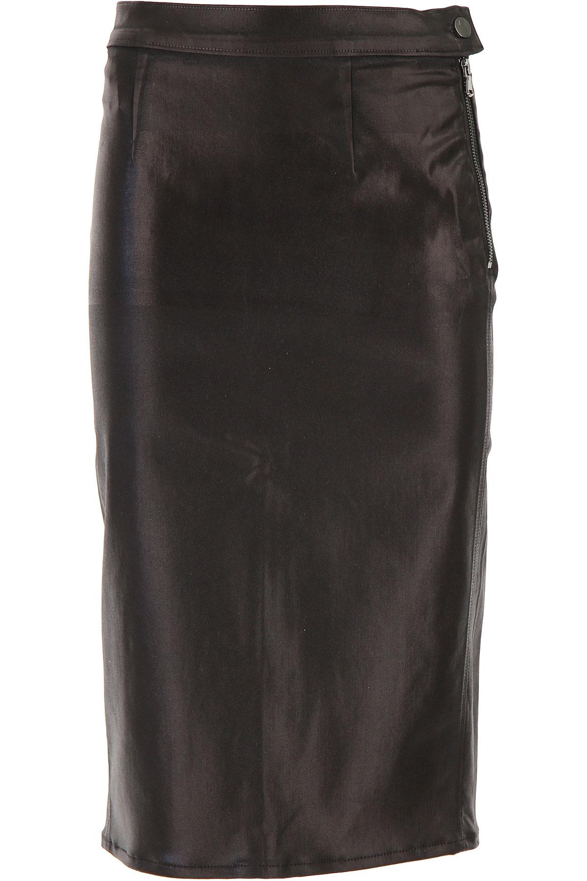 J Brand Skirt for Women On Sale, Black, lyocell, 2019, 25 26 27 29