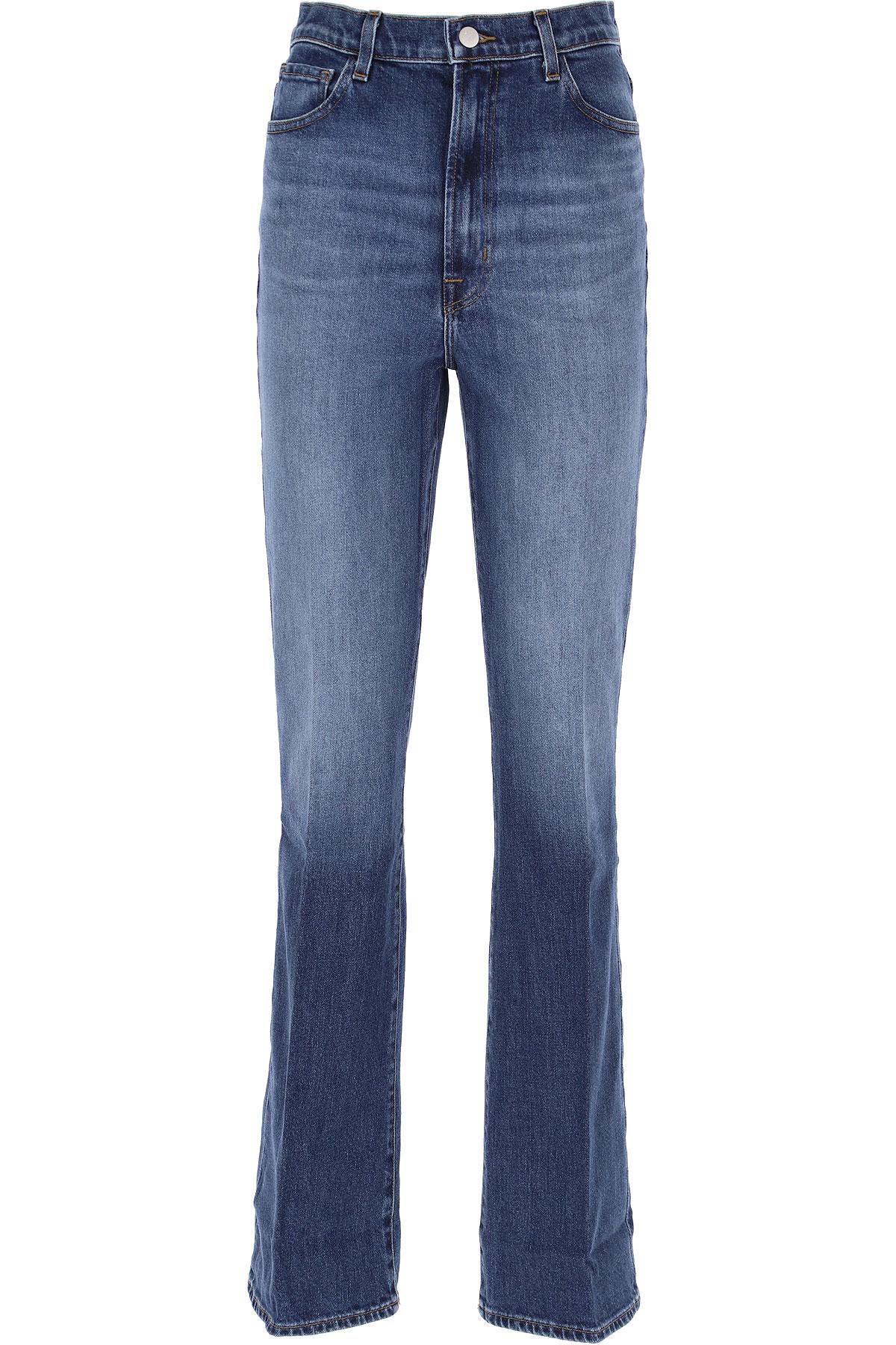 J Brand Jeans On Sale, Medium Blue Denim, Cotton, 2019, 24 25 26 27 28 29