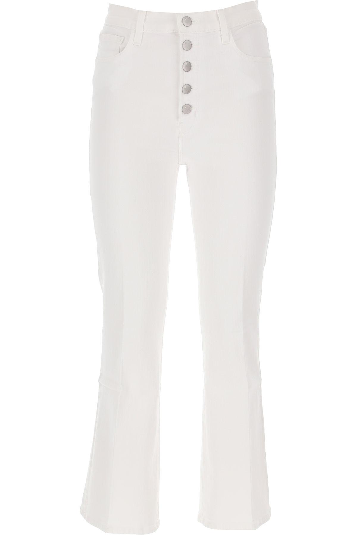 J Brand Jeans On Sale, White, Cotton, 2019, 24 25 26 27 28 29