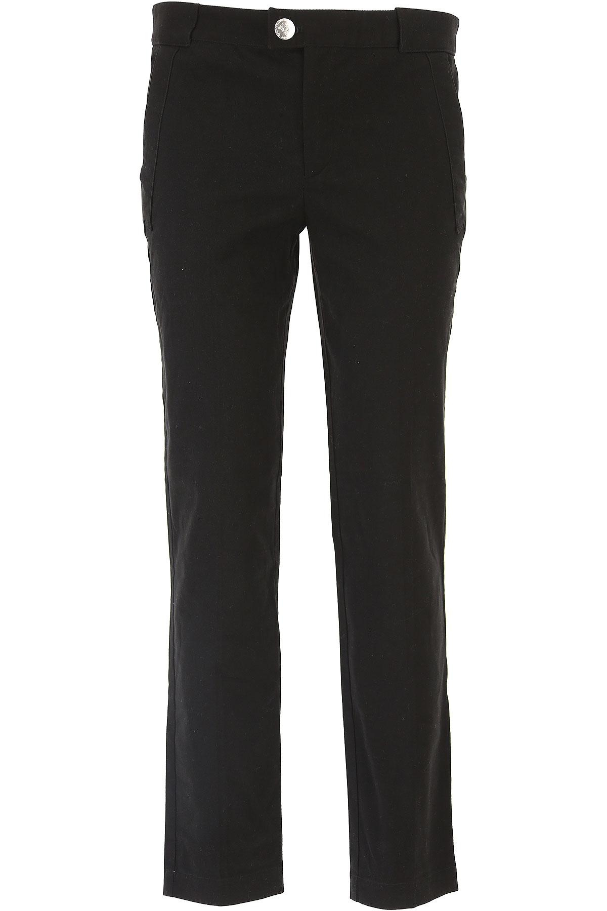 JC de CASTELBAJAC Pants for Men On Sale in Outlet, Black, Cotton, 2019, 36 40