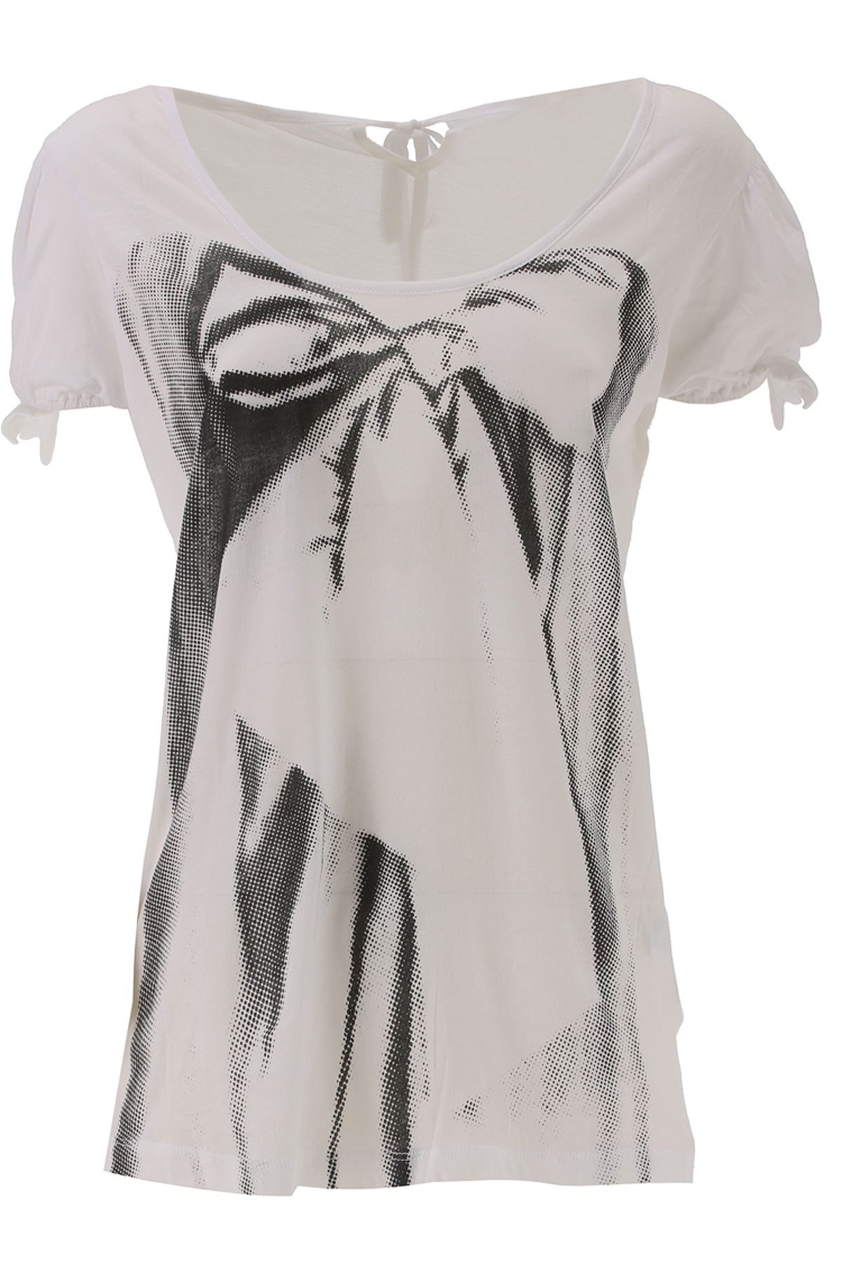 Image of JC de CASTELBAJAC T-Shirt for Women On Sale, White, white, 2017, 4 6 8