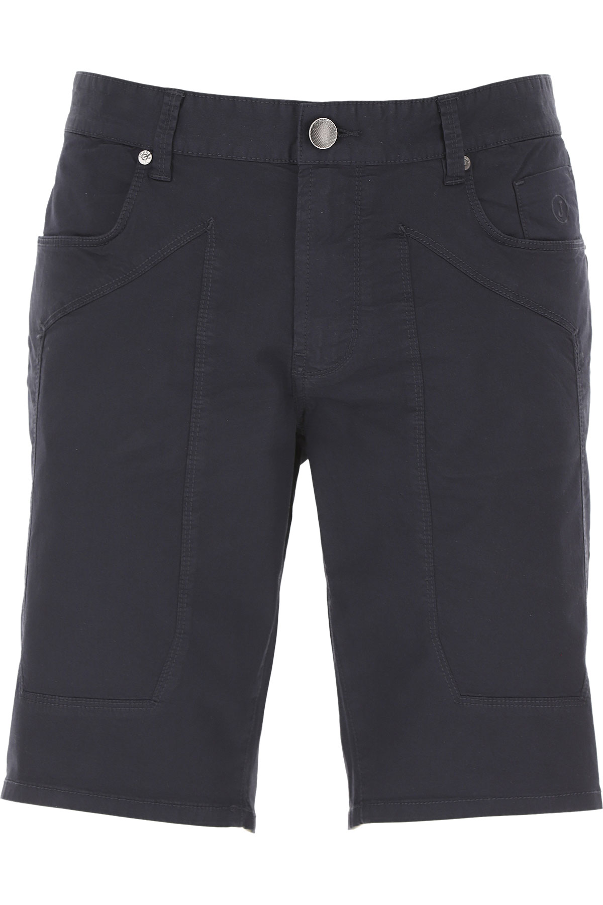 Jeckerson Shorts for Men On Sale, Navy Blue, Cotton, 2019, 30 31 32 33 34 36