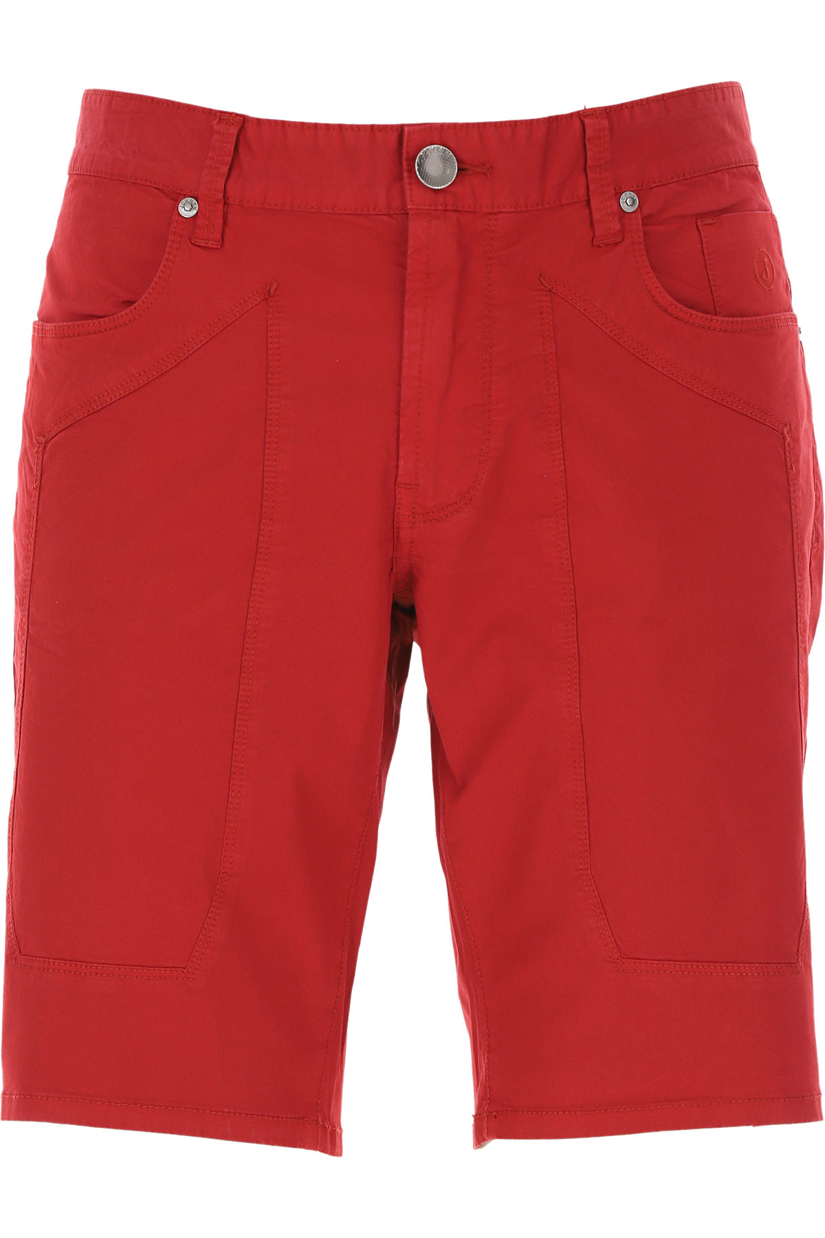 Jeckerson Shorts for Men On Sale, Red, Cotton, 2019, 30 31 32 35 36