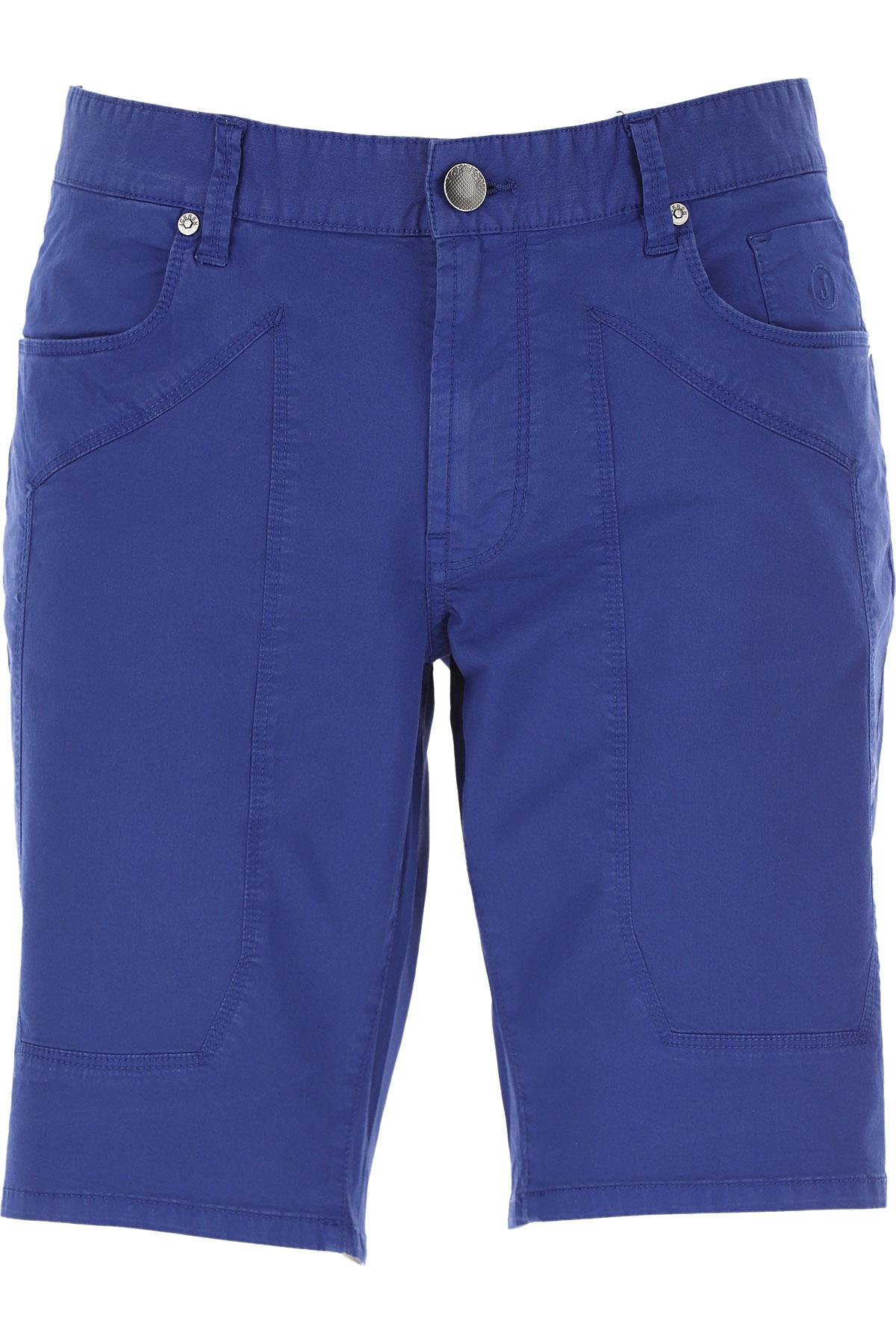 Jeckerson Shorts for Men On Sale, Bluette, Cotton, 2019, 30 31 32 33 34 35 36