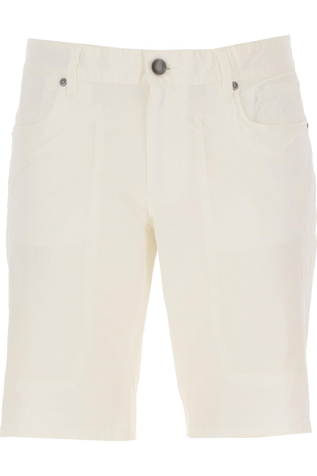 Jeckerson Shorts for Men On Sale, White, Cotton, 2019, 30 31 34 35 36