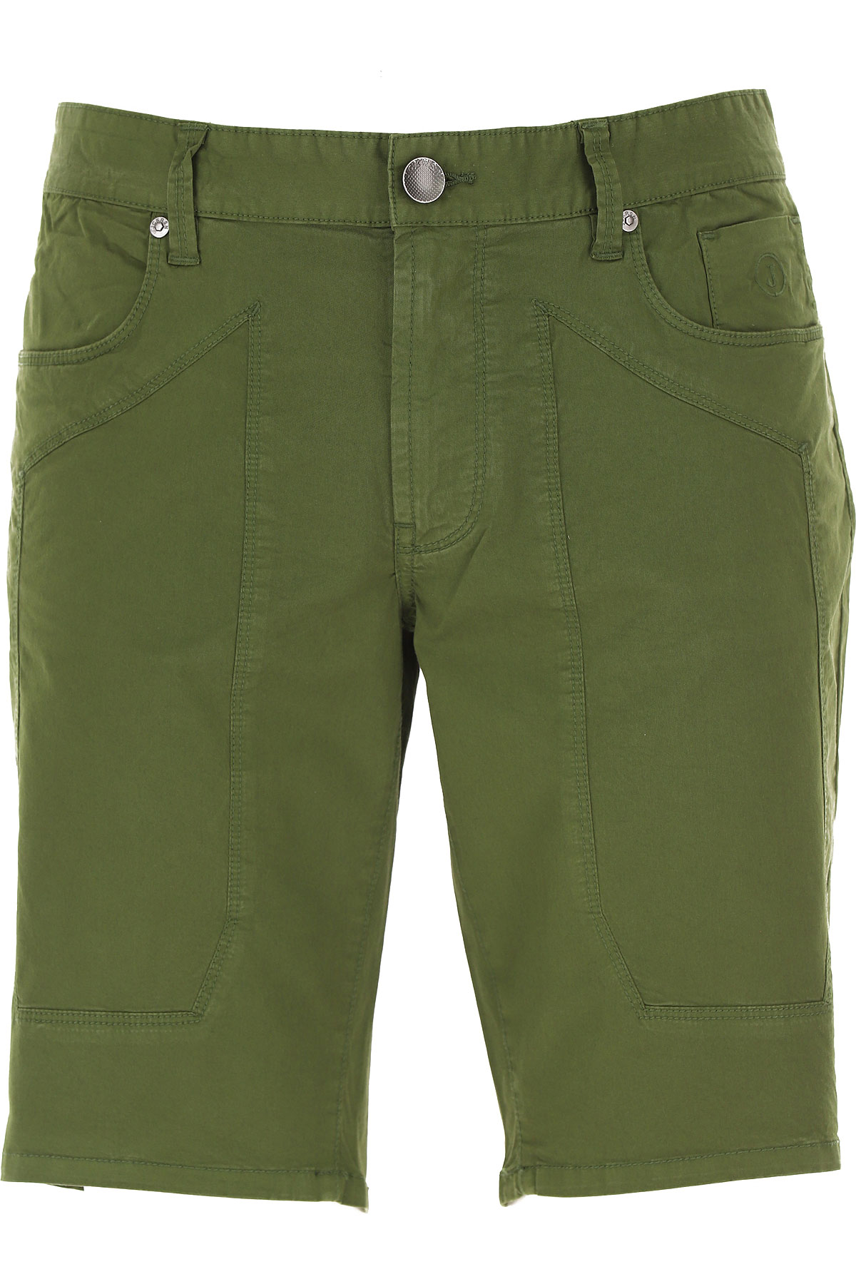 Jeckerson Shorts for Men On Sale, Green, Cotton, 2019, 30 31 32 33 34 35 36