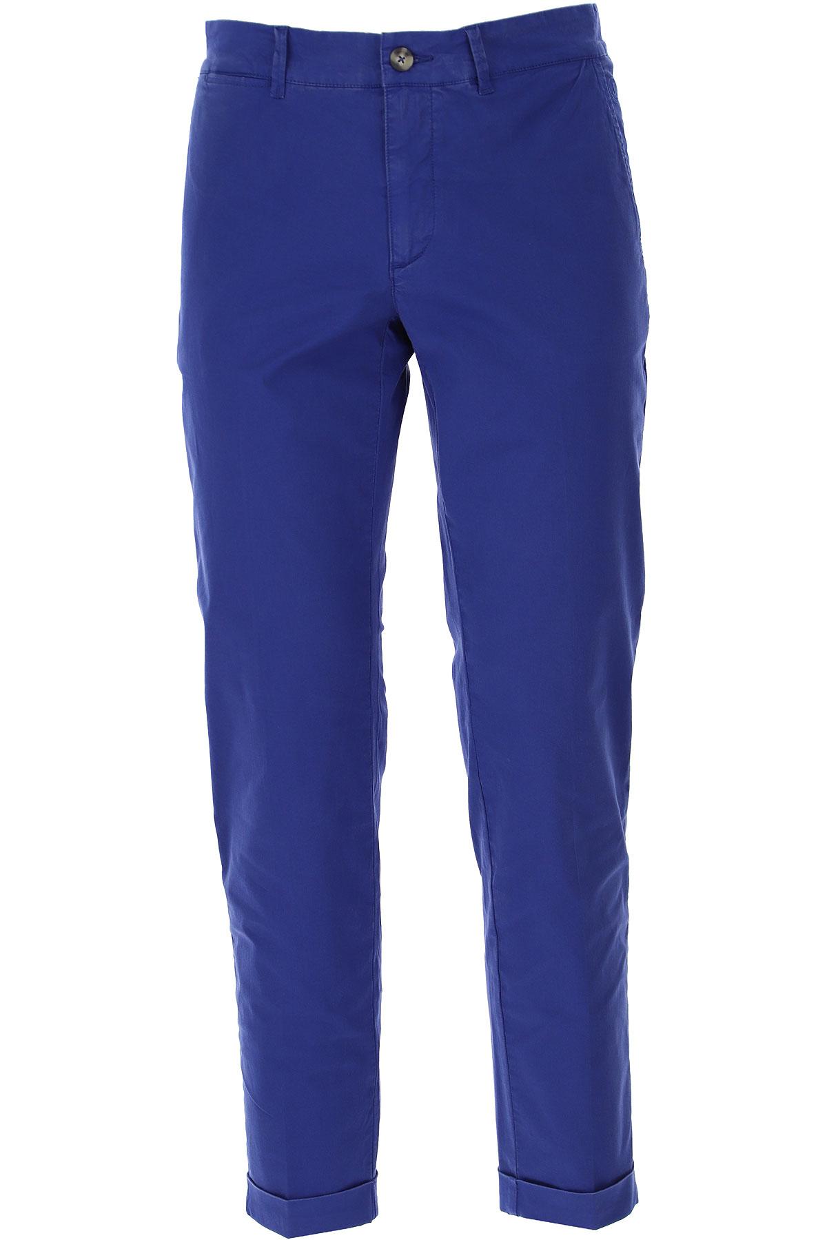 Jeckerson Pants for Men On Sale, Universe Blue, Cotton, 2019, 29 30 31 32 34 35 36 38 40
