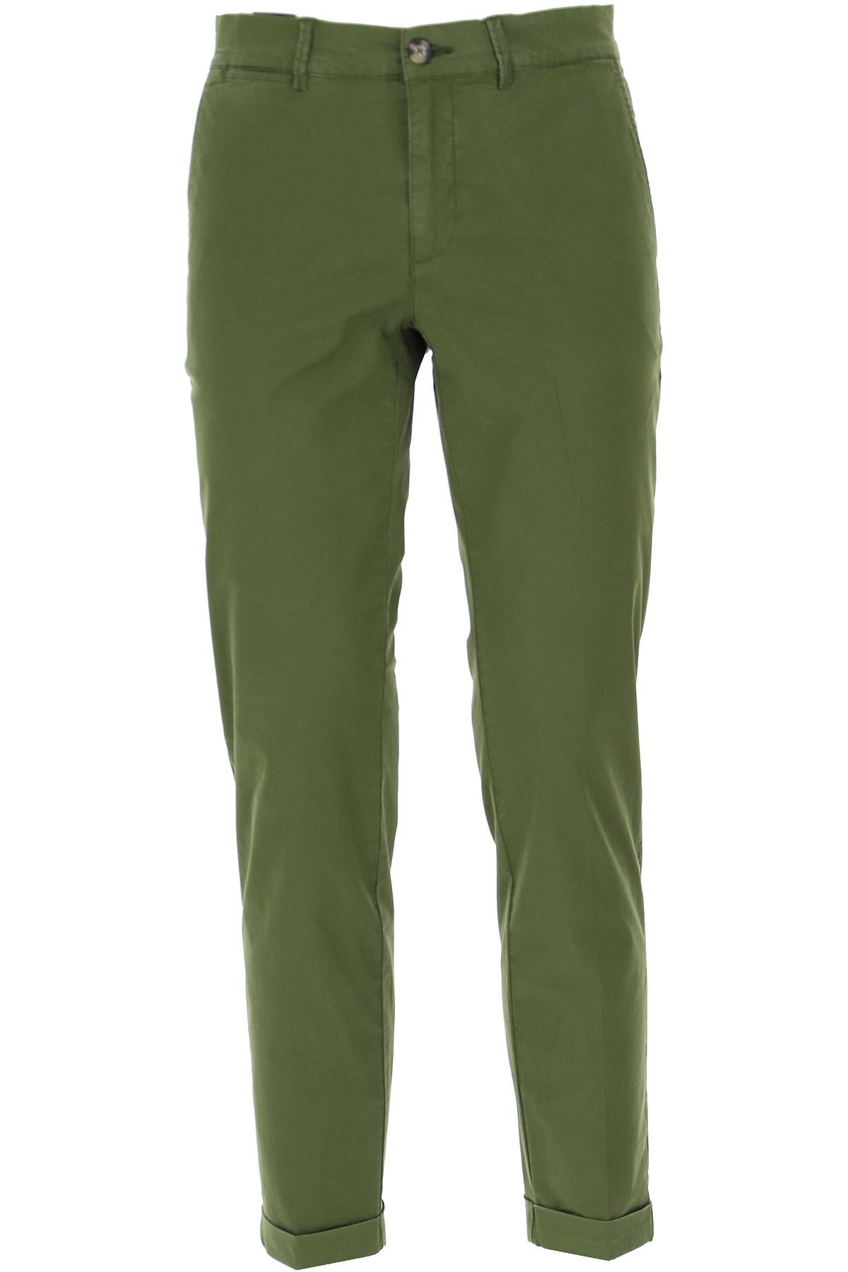Jeckerson Pants for Men On Sale, Bottle Green, Cotton, 2019, 29 30 31 32 34 35 36 38 40