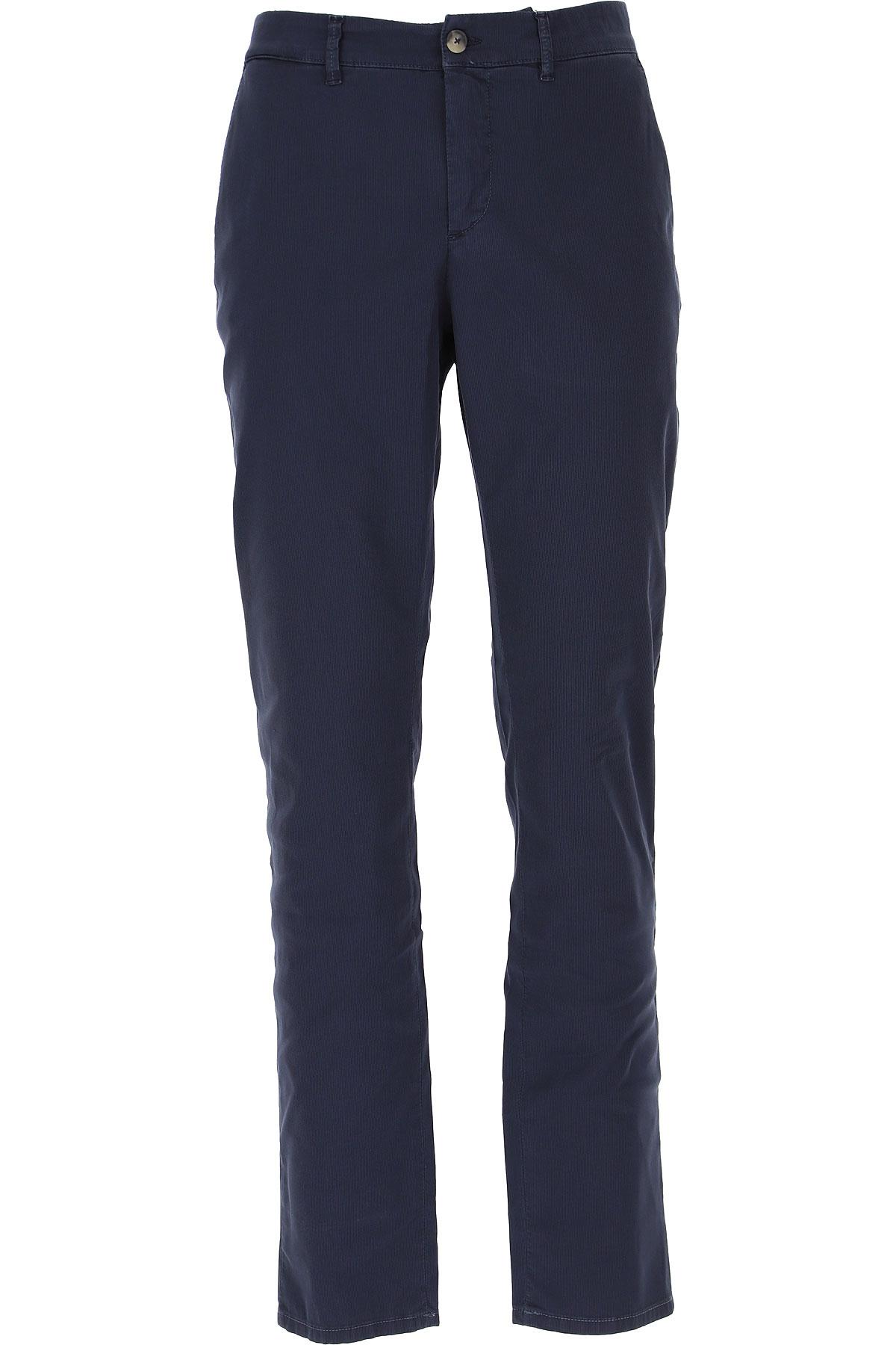 Jeckerson Pants for Men On Sale, Blue, Cotton, 2019, 29 30 31 32 35 36 38 40