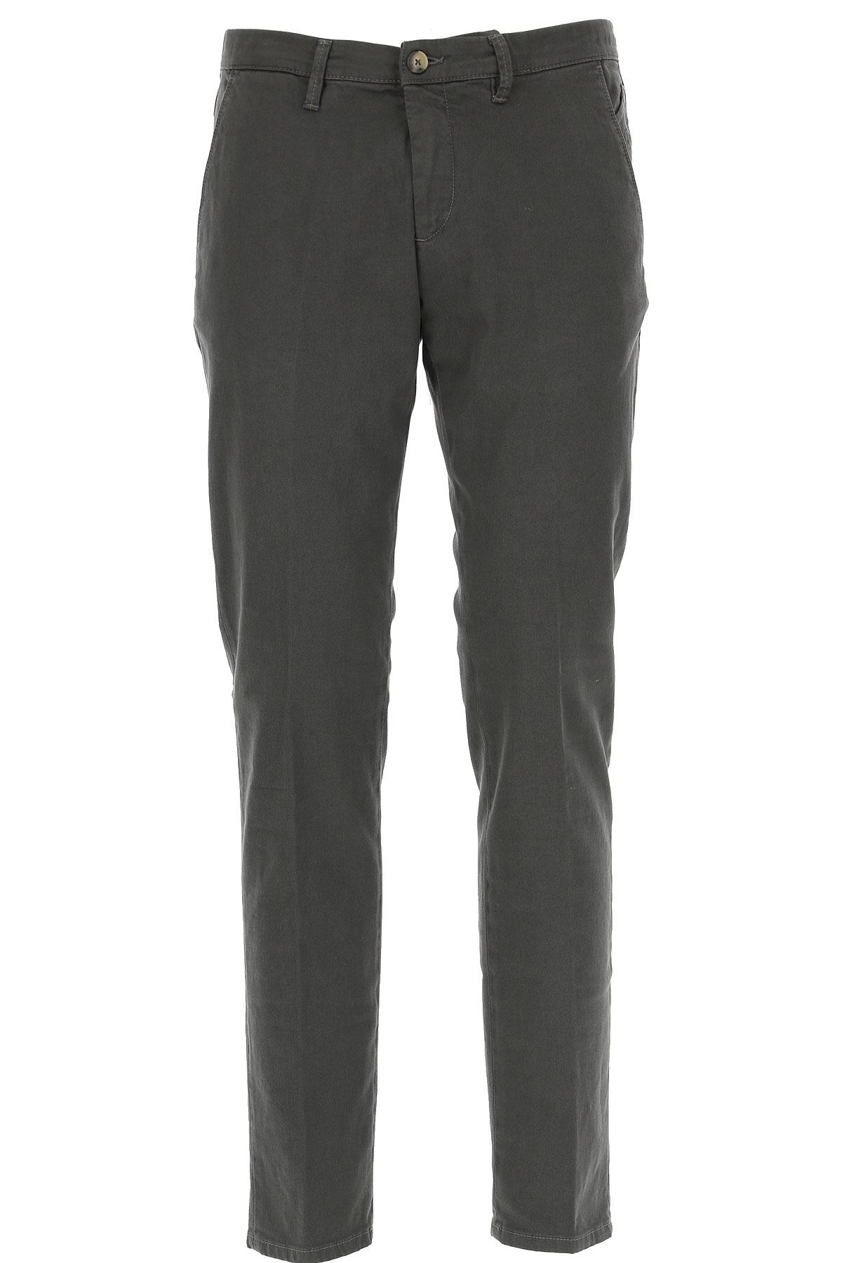 Jeckerson Pants for Men On Sale, Asphalt Grey, Cotton, 2019, 30 31 32 33 34 35 36