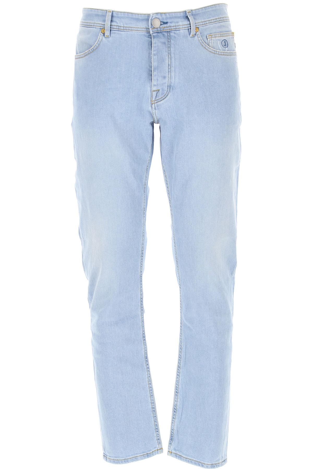 Jeckerson Jeans On Sale, Denim Bright Blue, Cotton, 2019, 29 30 31 32 33 34 35 36 40
