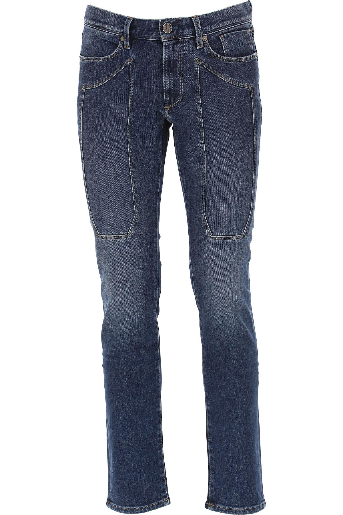 Jeckerson Jeans On Sale, Denim Blue, Cotton, 2019, 28 29 30 31 32 33 34 35 36 38