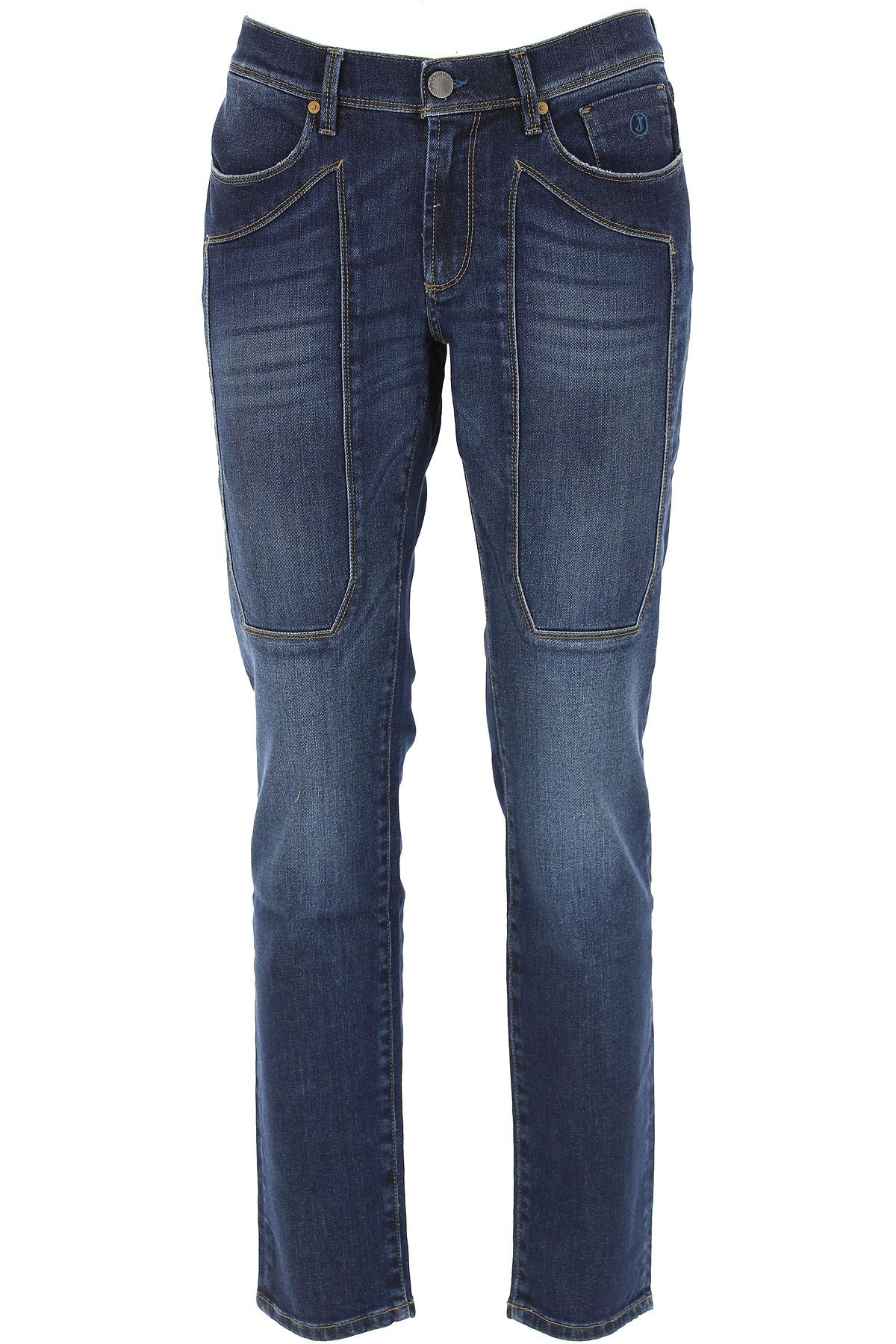 Jeckerson Jeans On Sale, Denim Blue, Cotton, 2019, 30 34