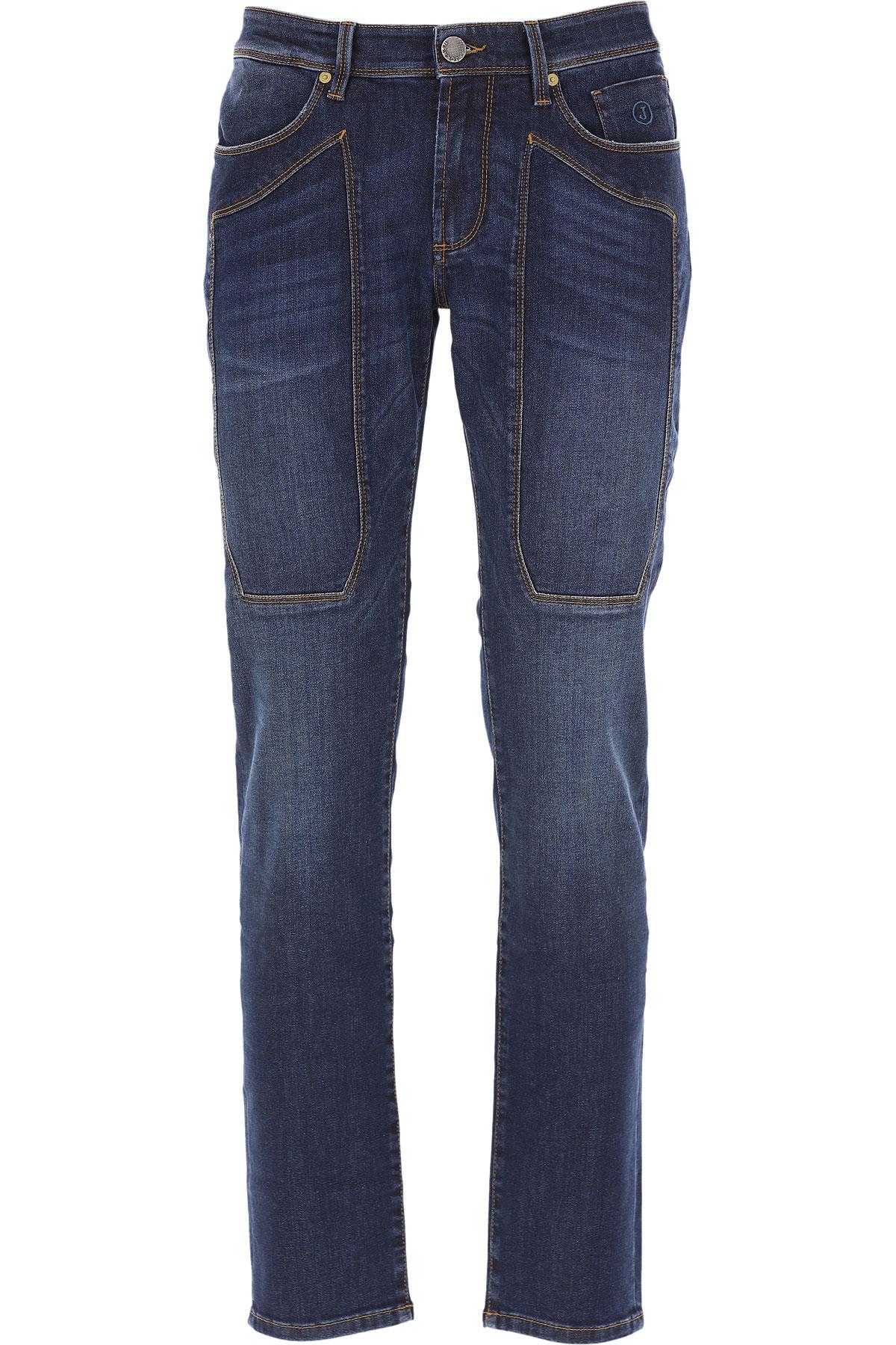 Jeckerson Jeans On Sale, Dark Blue, Cotton, 2019, 30 31 32 33 34 35 38 40