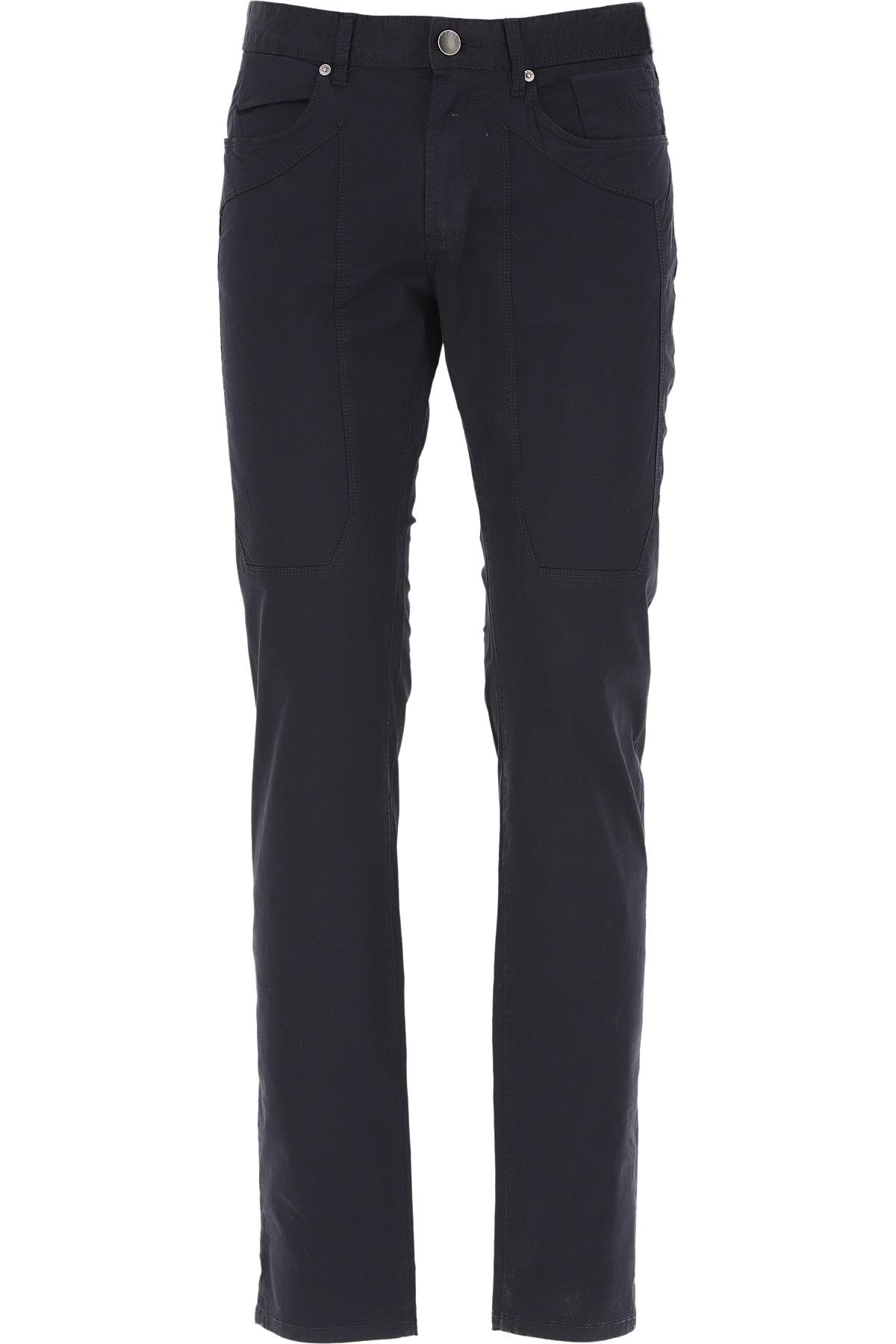 Jeckerson Pants for Men On Sale, Midnight Blue, Cotton, 2019, 30 31 32 33 34 35 36 38