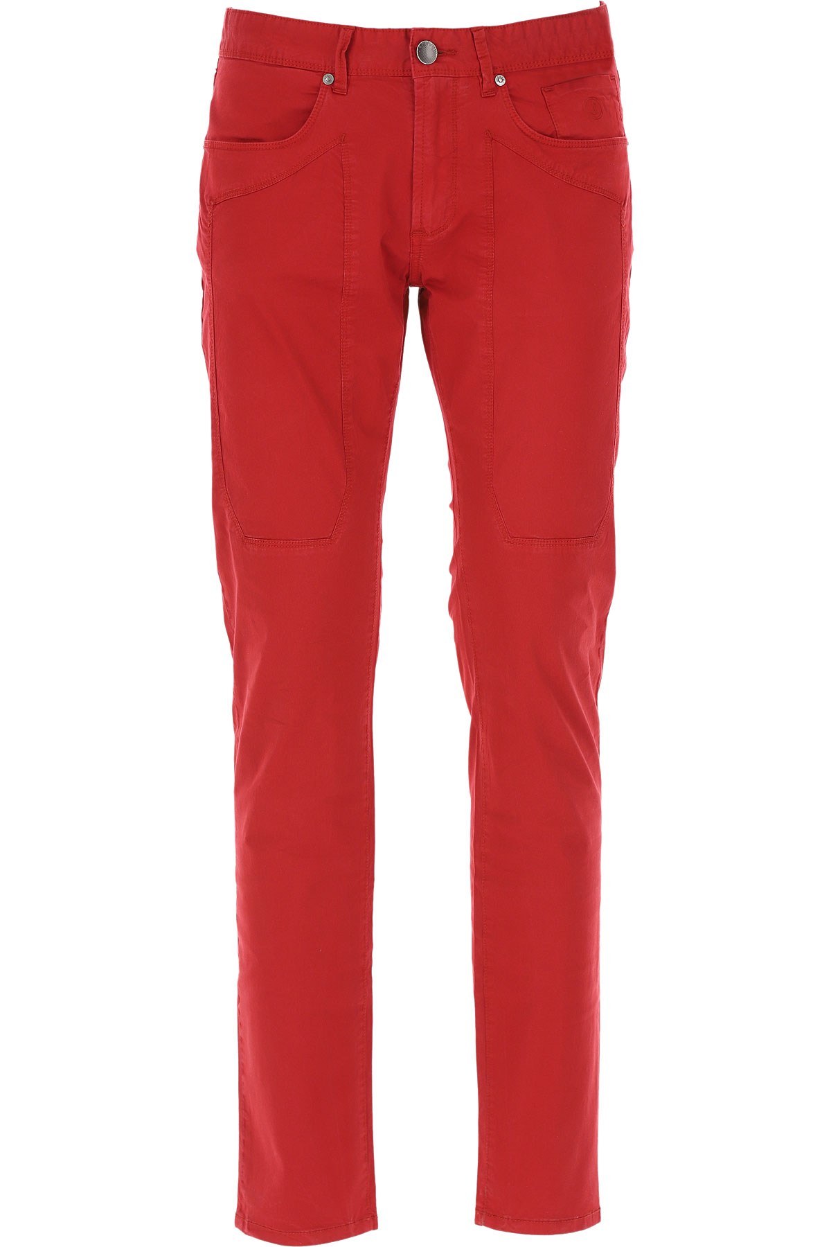 Jeckerson Pants for Men On Sale, Red, Cotton, 2019, 31 32 33 34 35 38