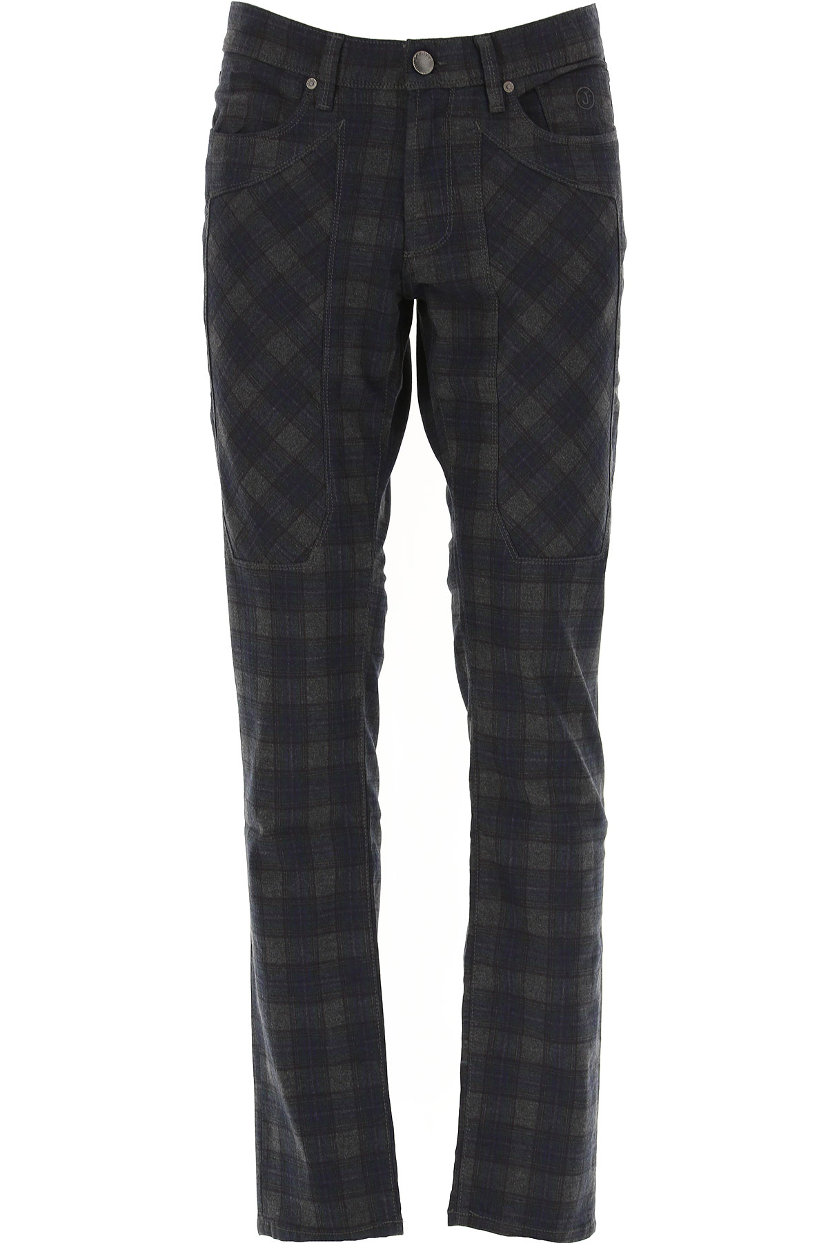 Jeckerson Pants for Men On Sale, Ink Blue, Cotton, 2019, 30 31 32 33 35 36 38