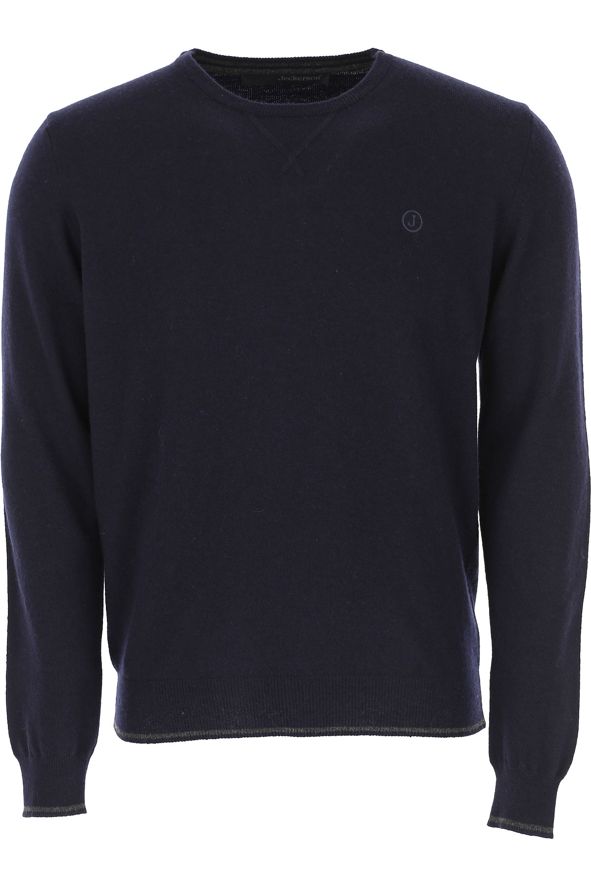 Jeckerson Sweater for Men Jumper On Sale, Blue, polyamide, 2019, L XXL